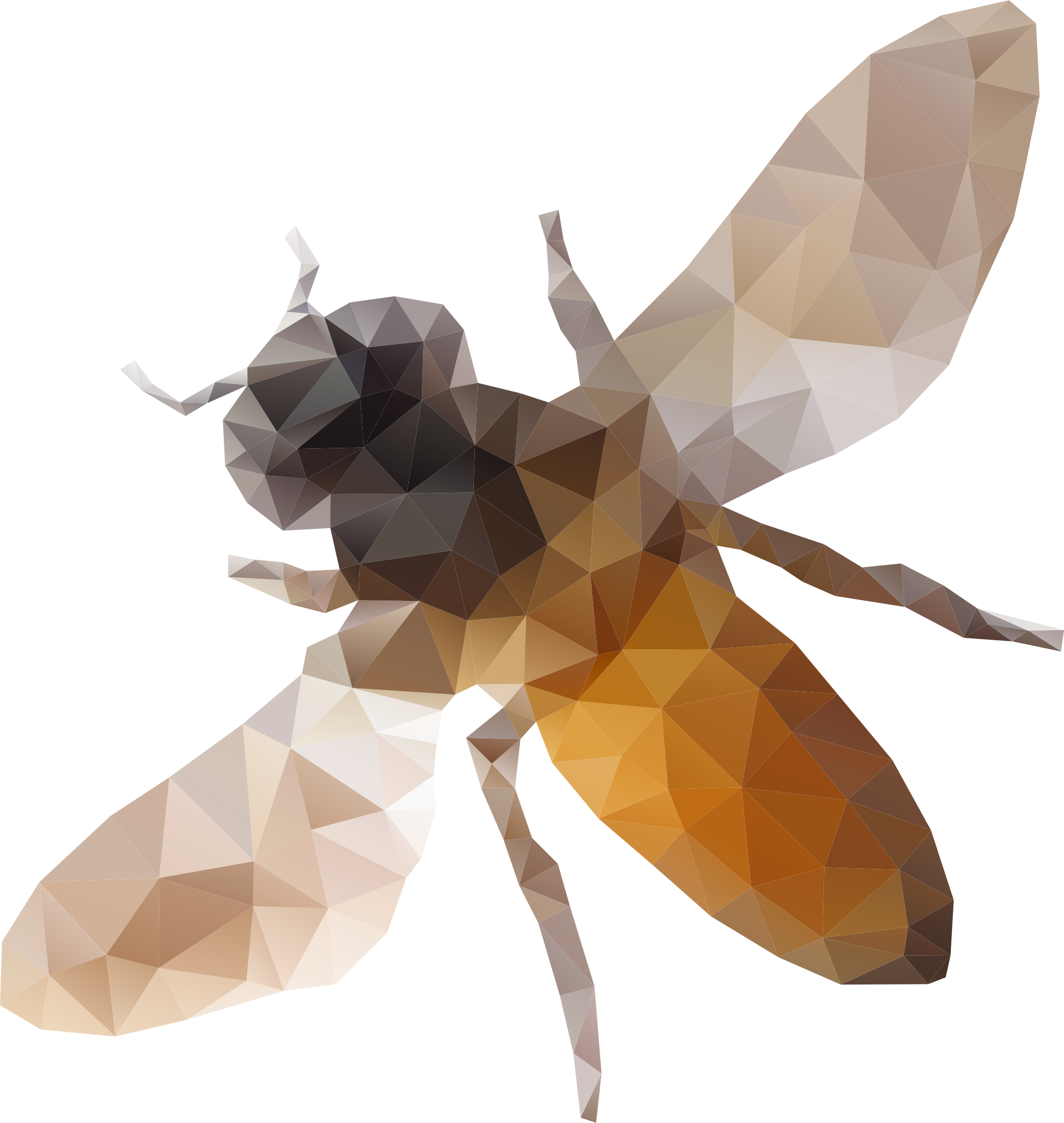 Low Poly Bee by GDJ