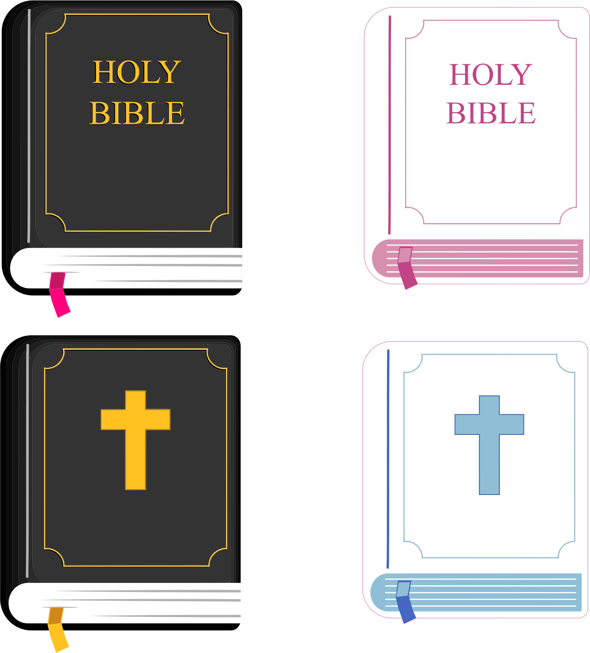 Holy Bible by GDJ