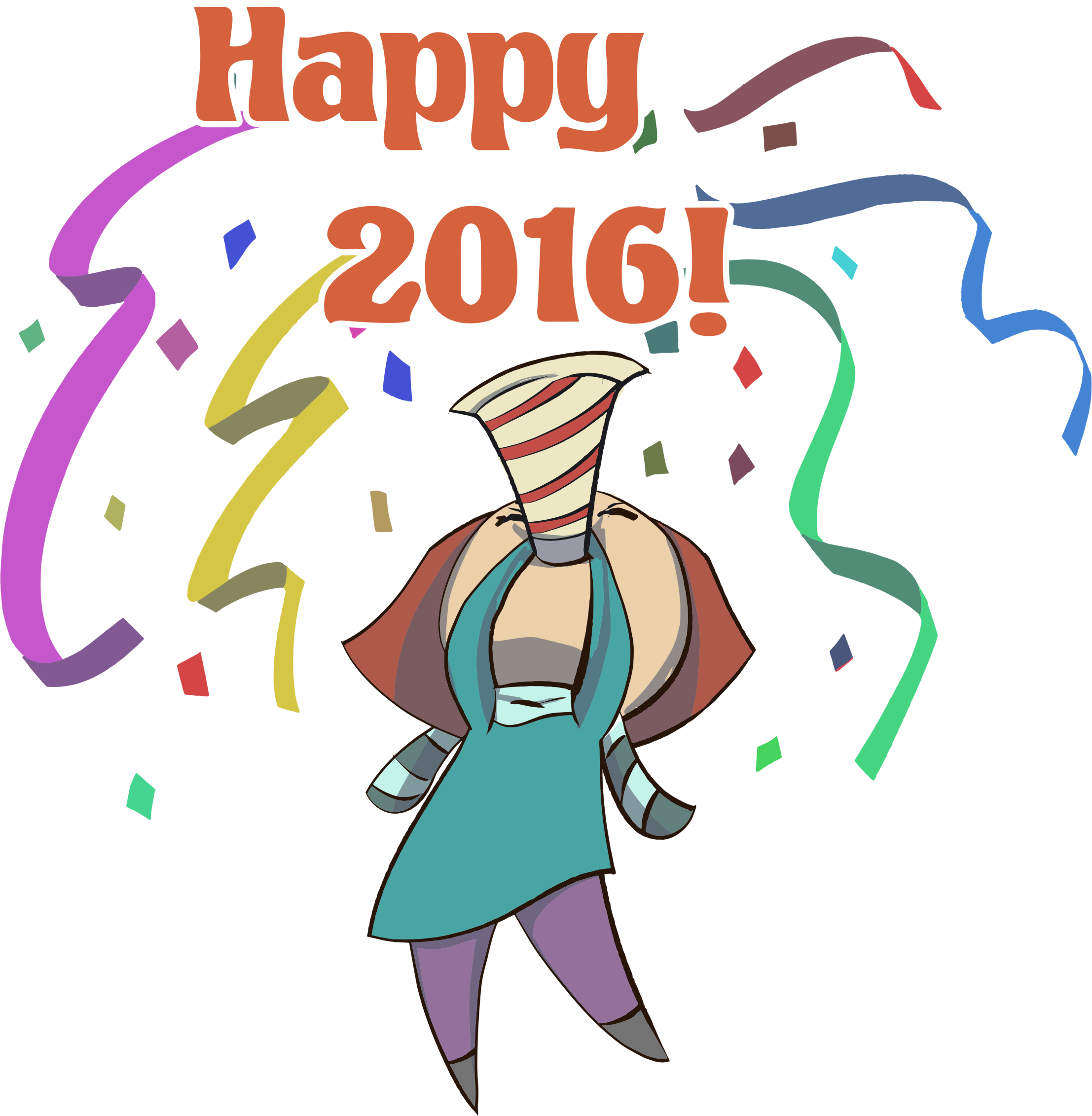 Happy 2016 Woman by GDJ
