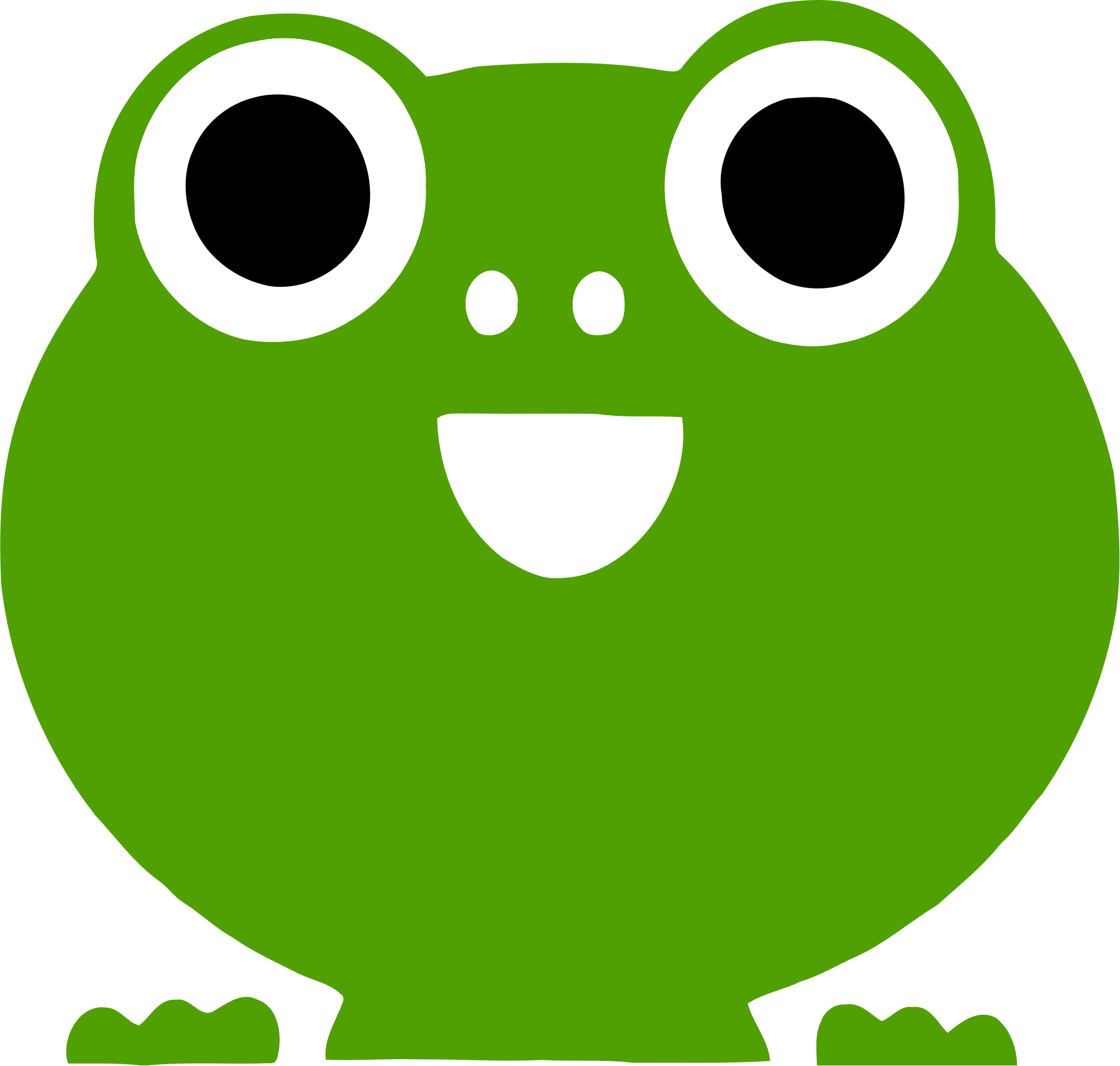 Frog Icon by GDJ