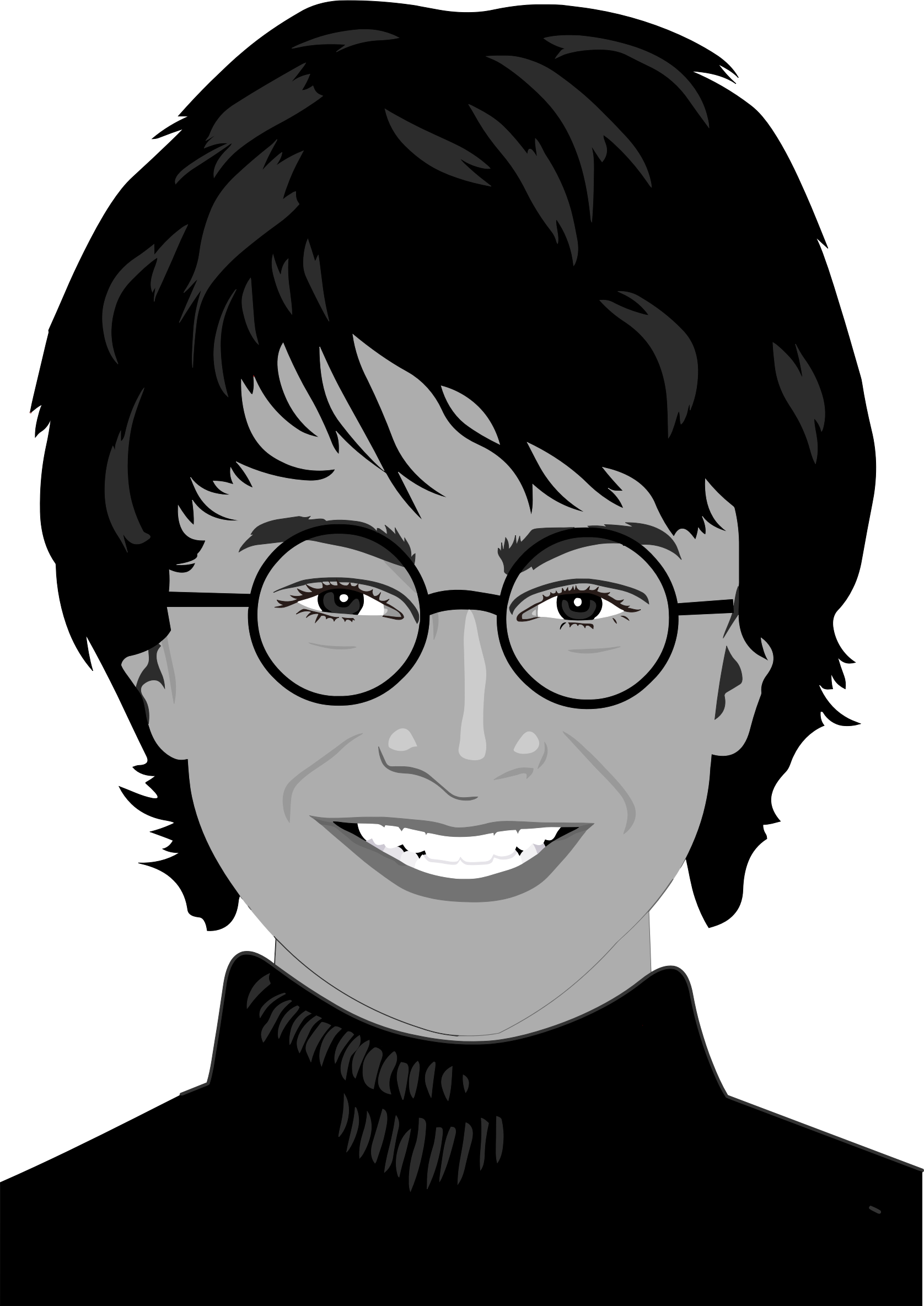 Daniel Radcliffe Portrait by GDJ