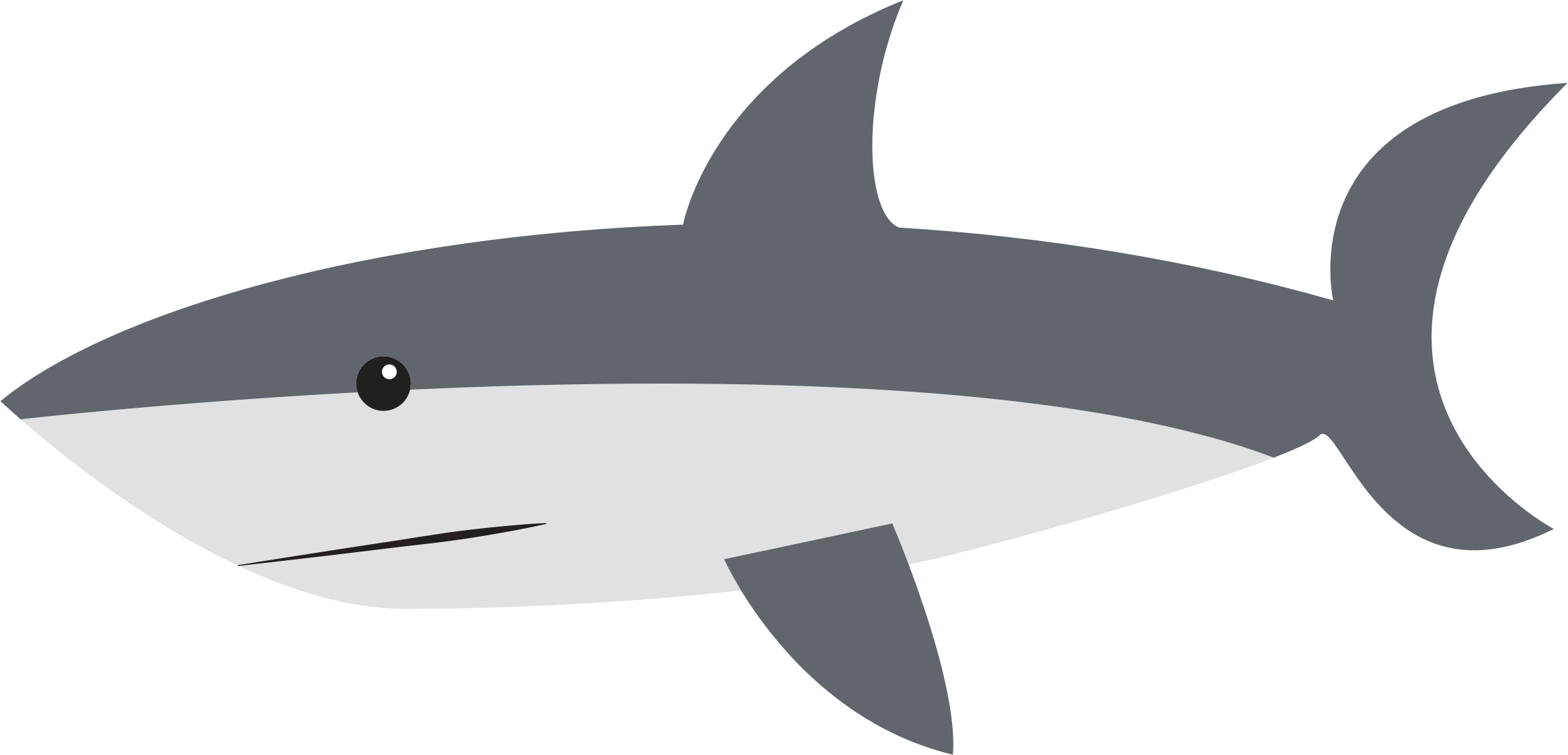 Clipart - Cartoon Shark