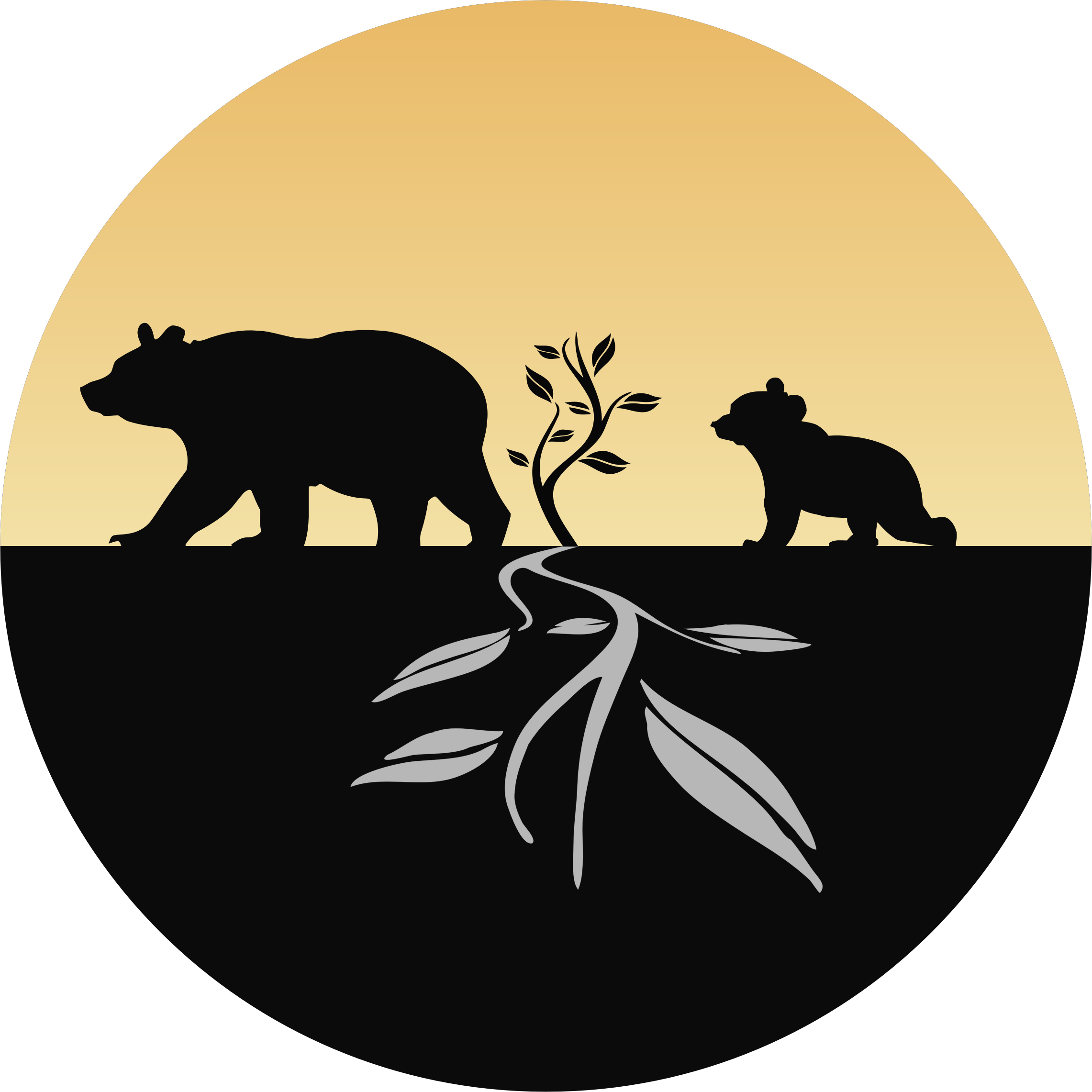 Bear And Cub Logo by GDJ
