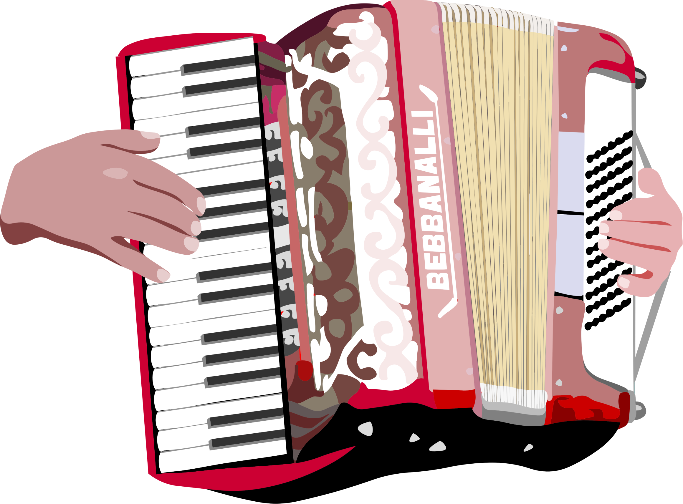 Accordion Player by GDJ