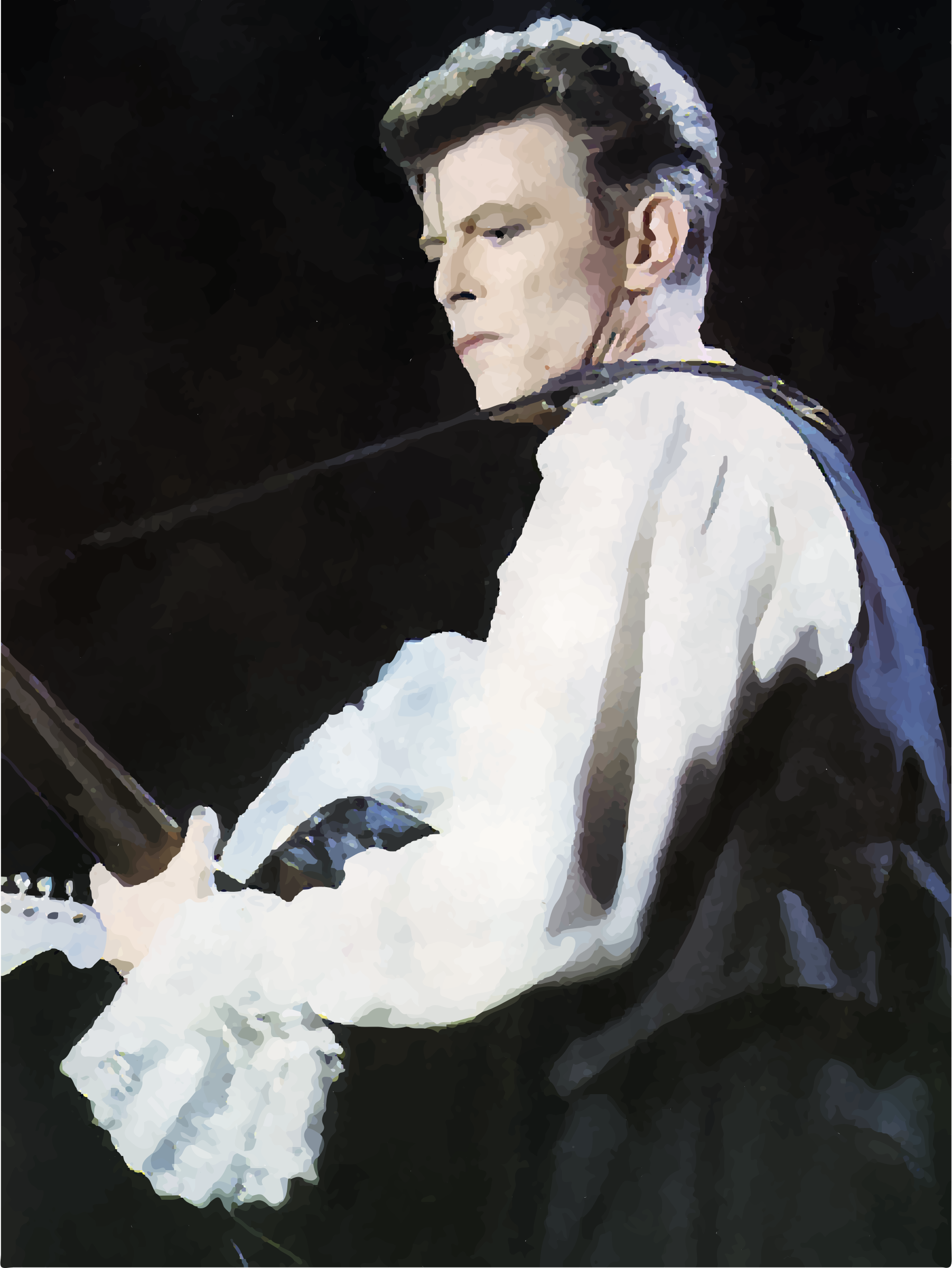 David Bowie Rock In Chile September 1990 by GDJ