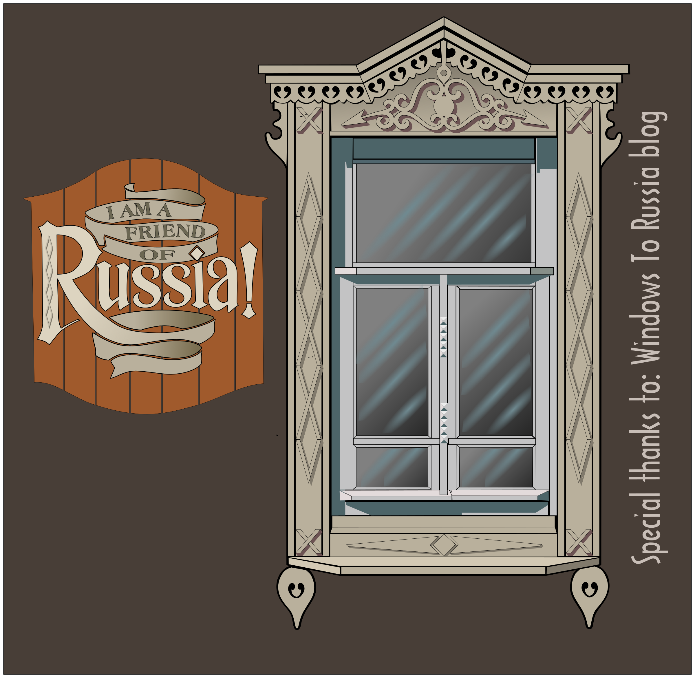 Russian Window #3 by Raker Tooth