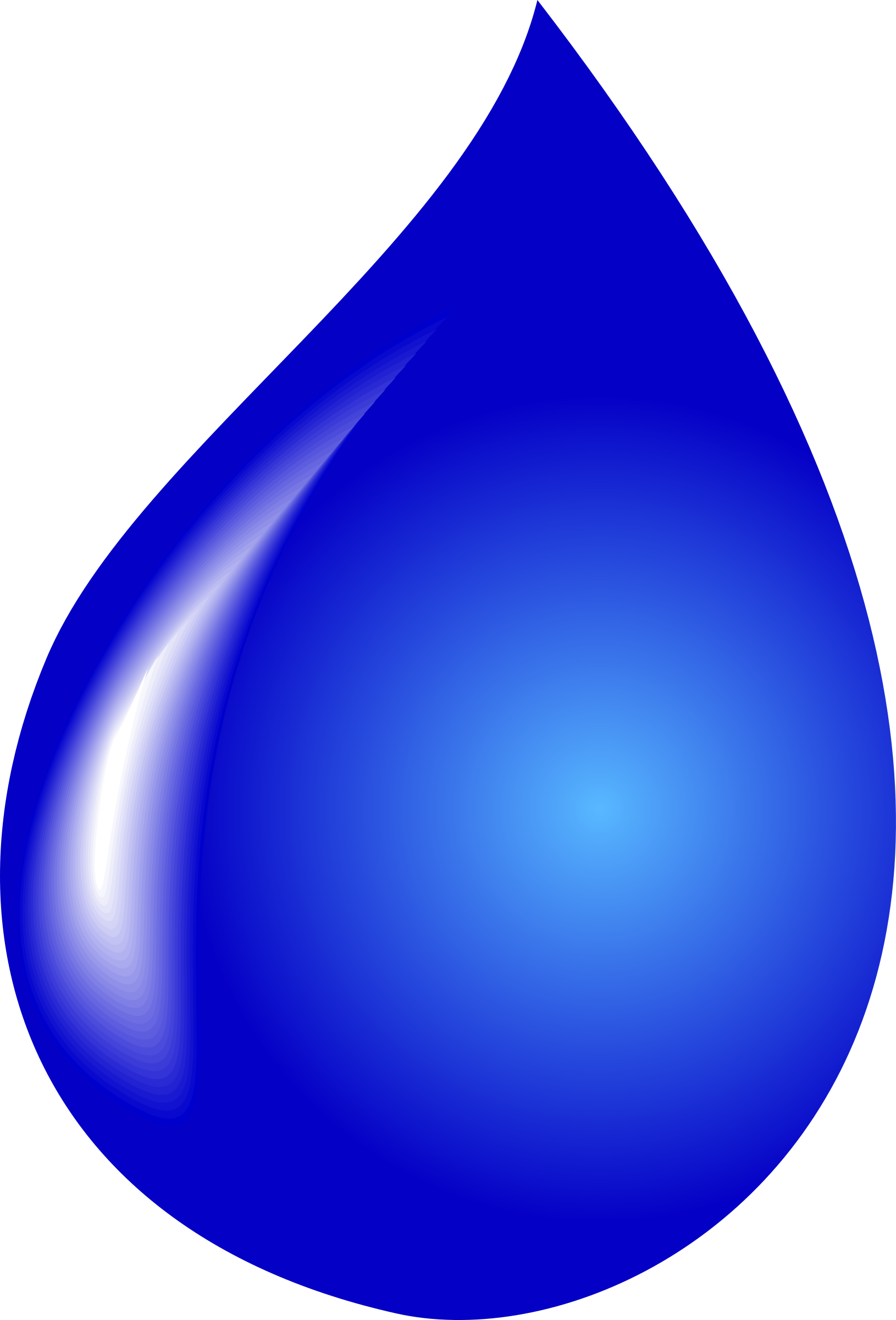 Clipart - water drop