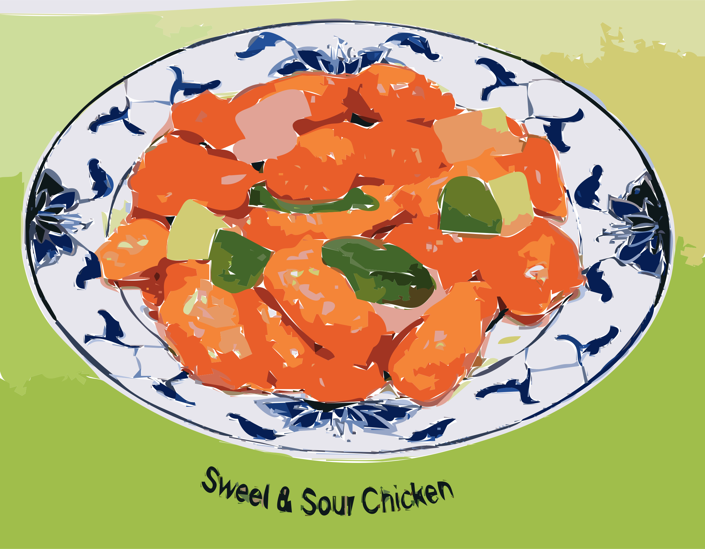Sweet & Sour Chicken by rejon