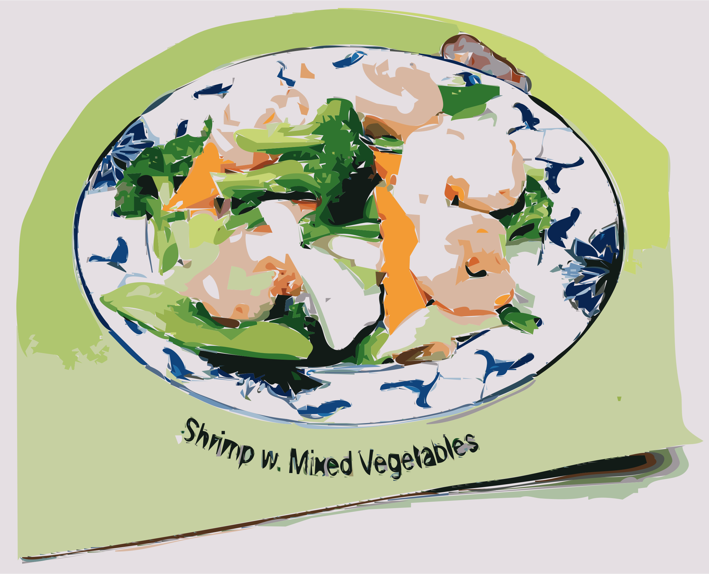 Shrimp with Mixed Vegetables by rejon