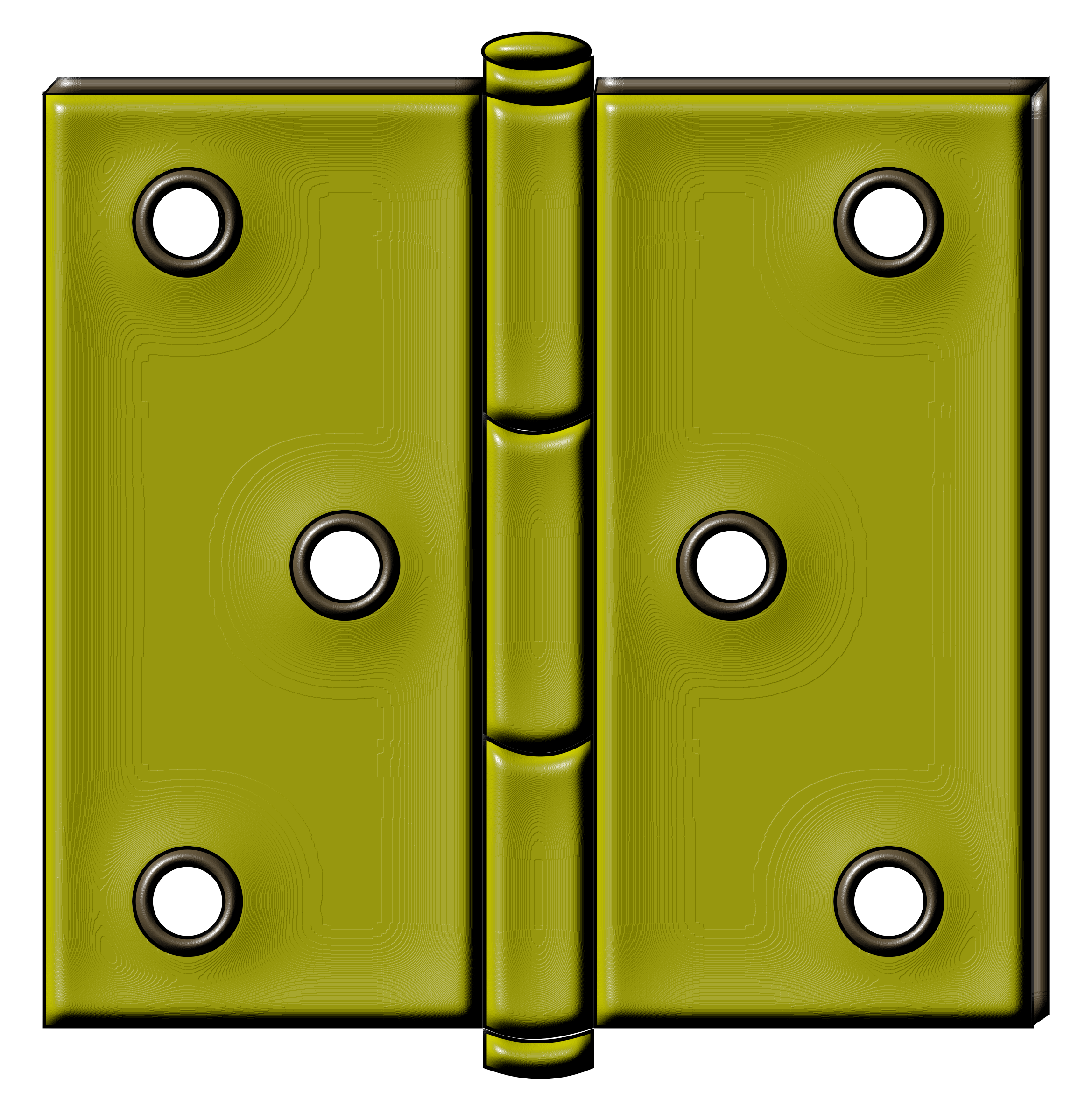 Brass Hinge by algotruneman