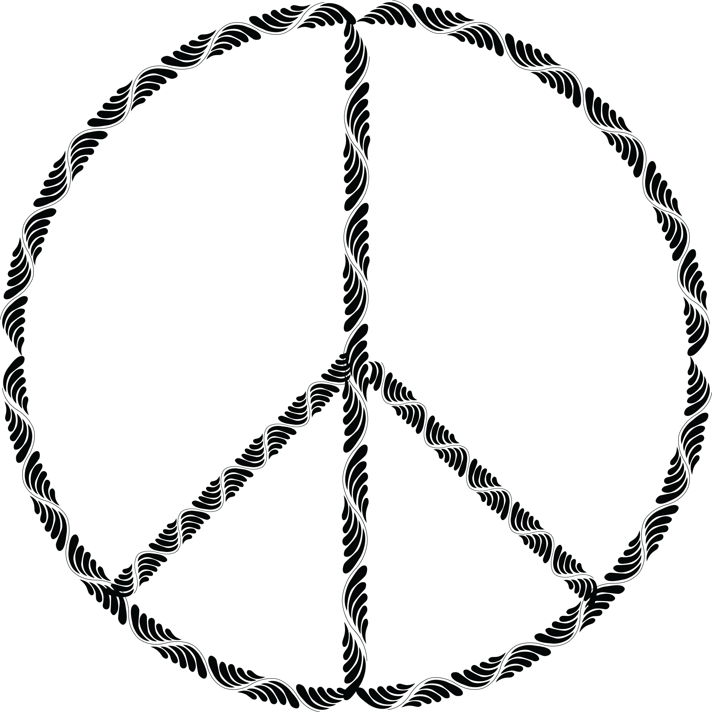 Trendy Peace Sign by GDJ