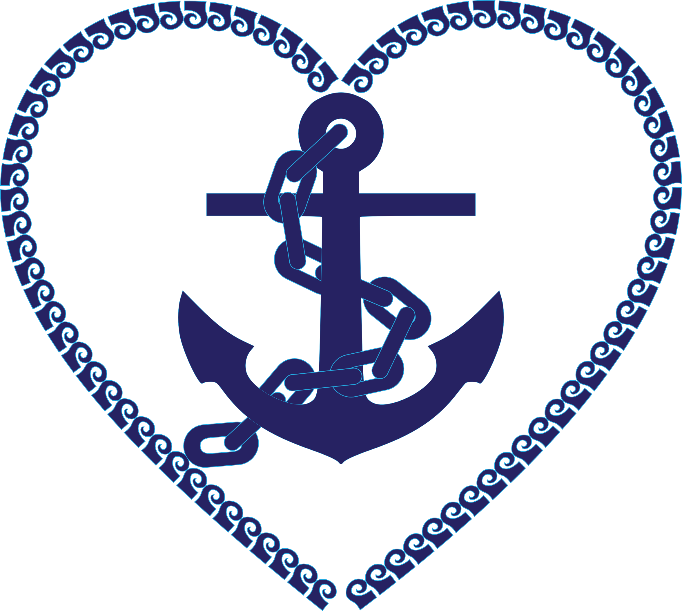 Nautical Heart by GDJ