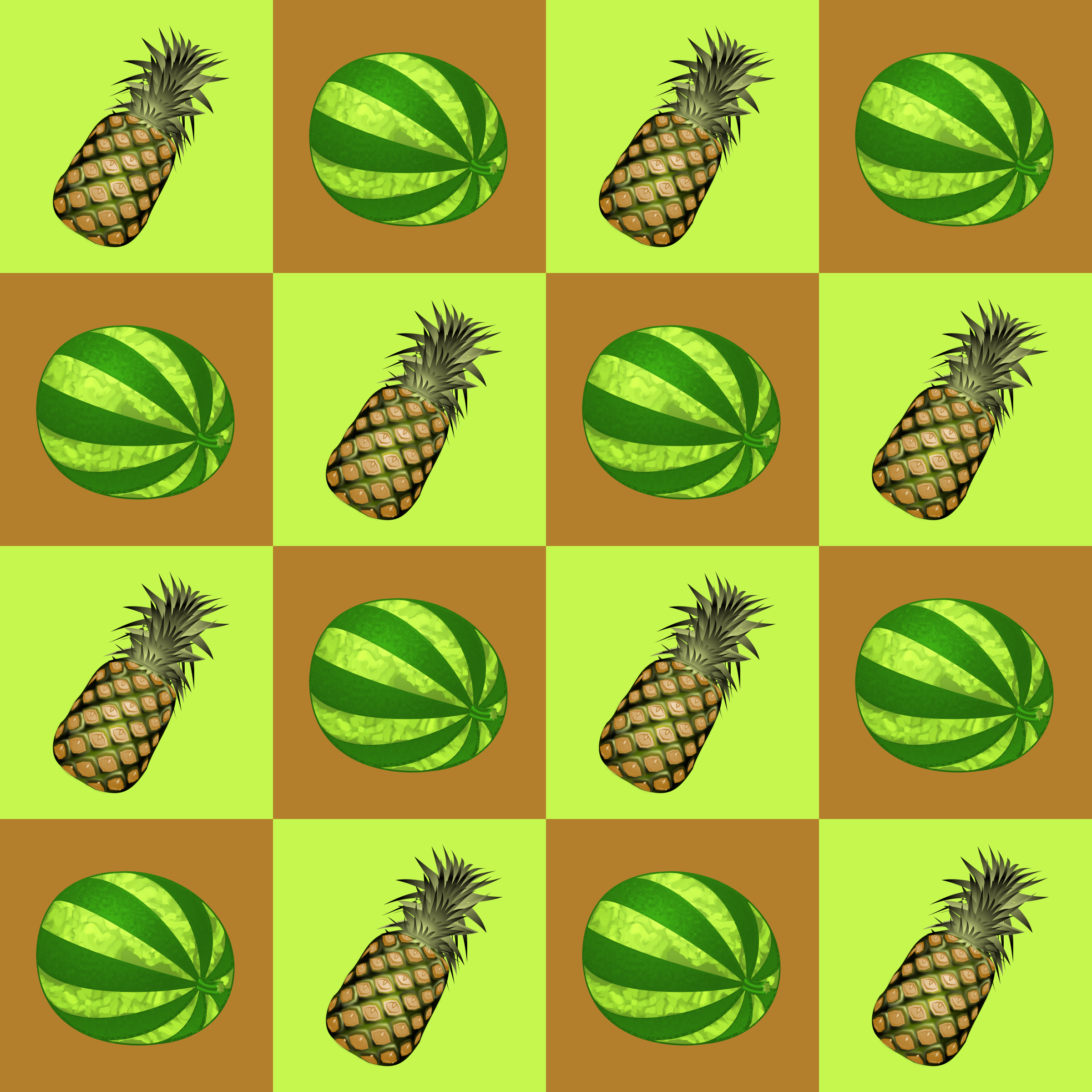 Fruit pattern 2 by Firkin