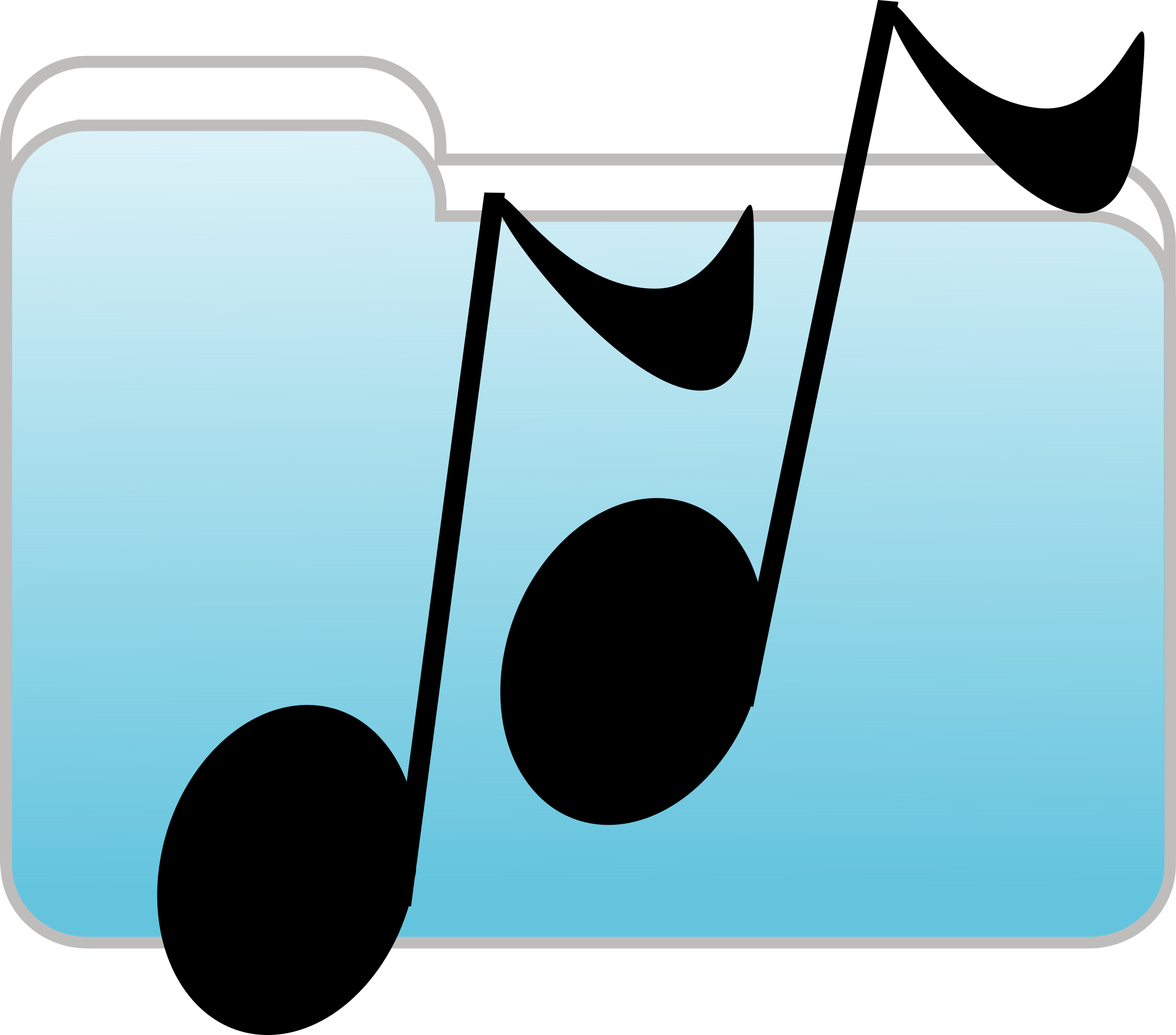 Music Folder Icon by Anonymous
