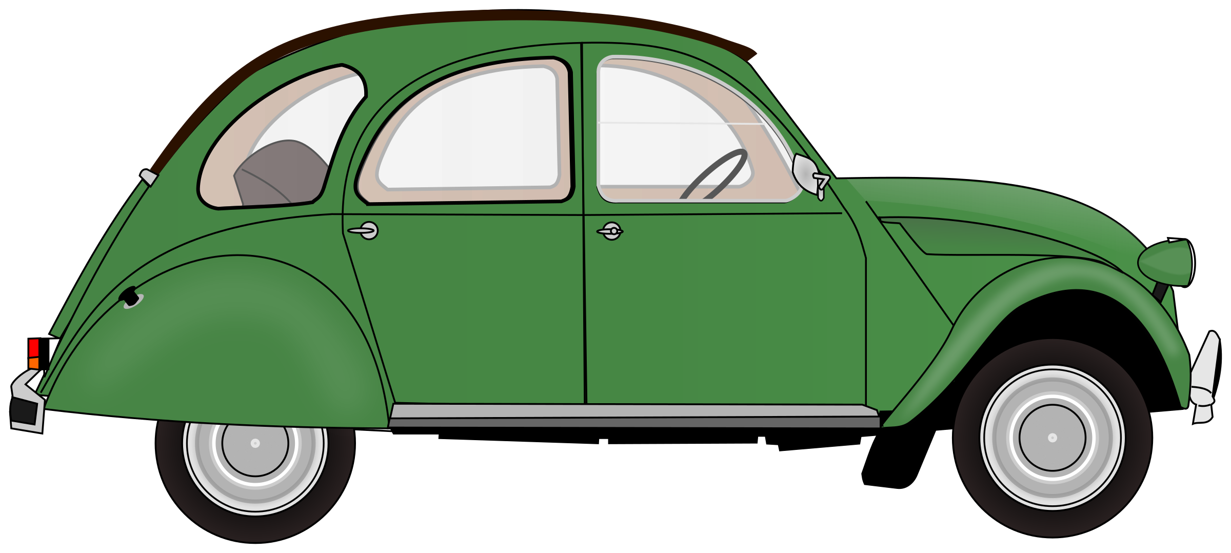 2CV (colour 1) by Firkin