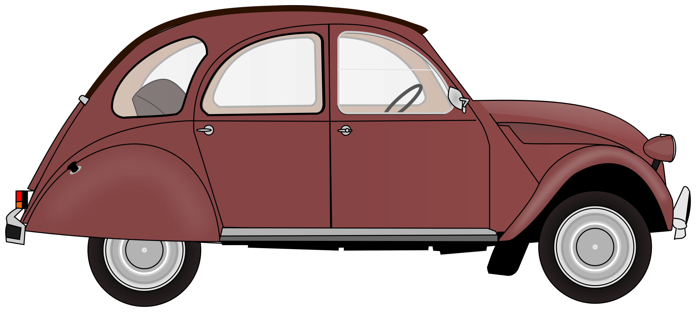 2CV (colour 3) by Firkin