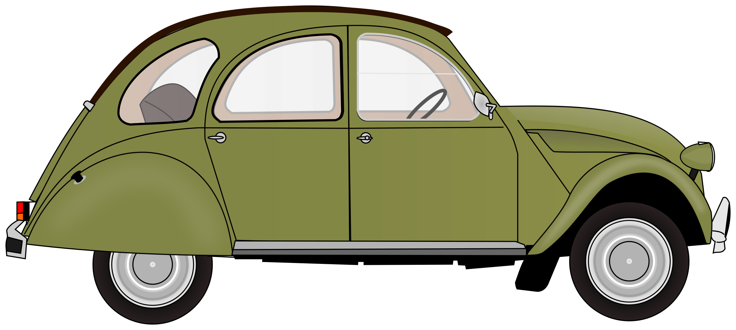 2CV (colour 5) by Firkin