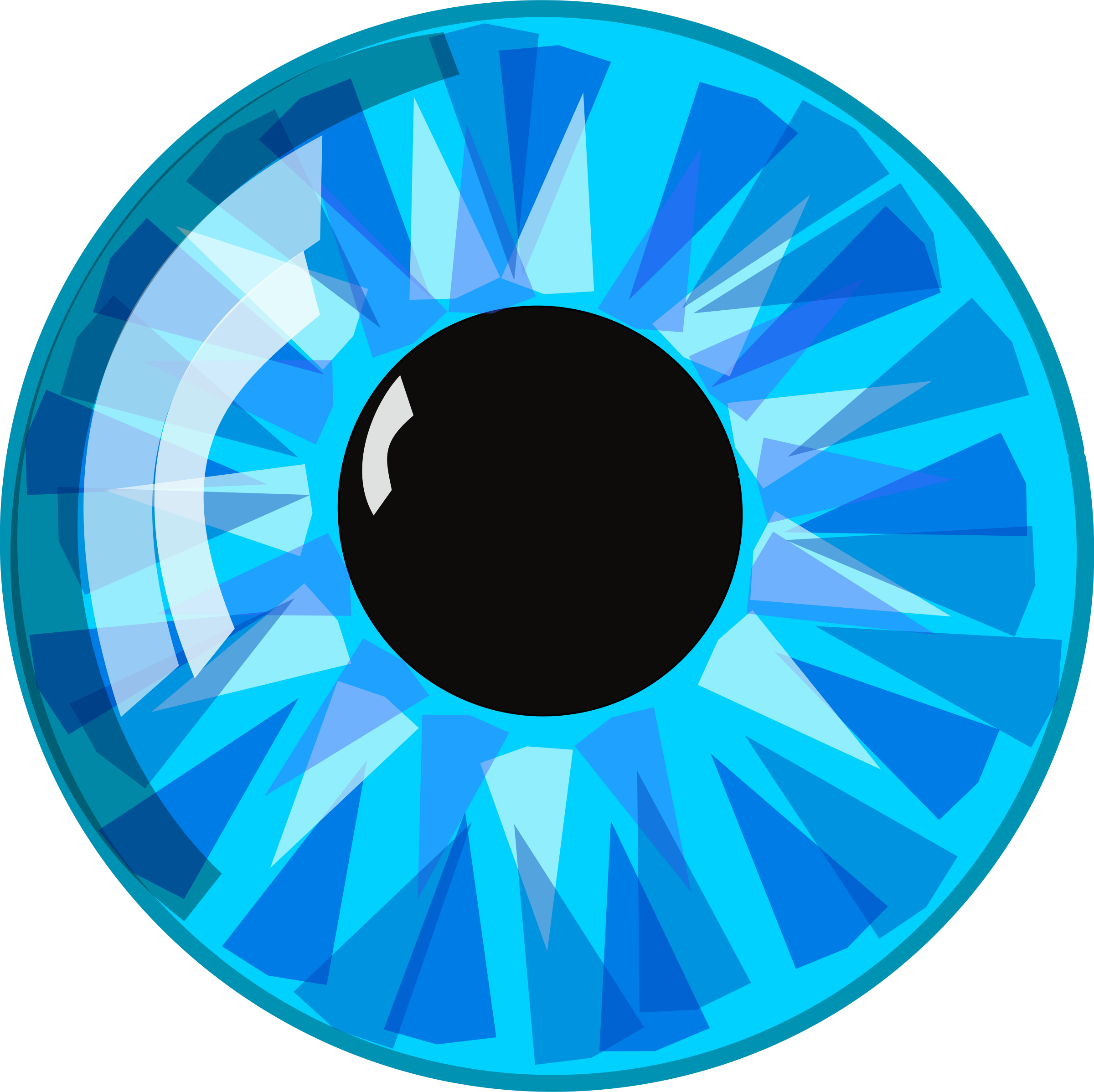 Blue Eye by Anonymous