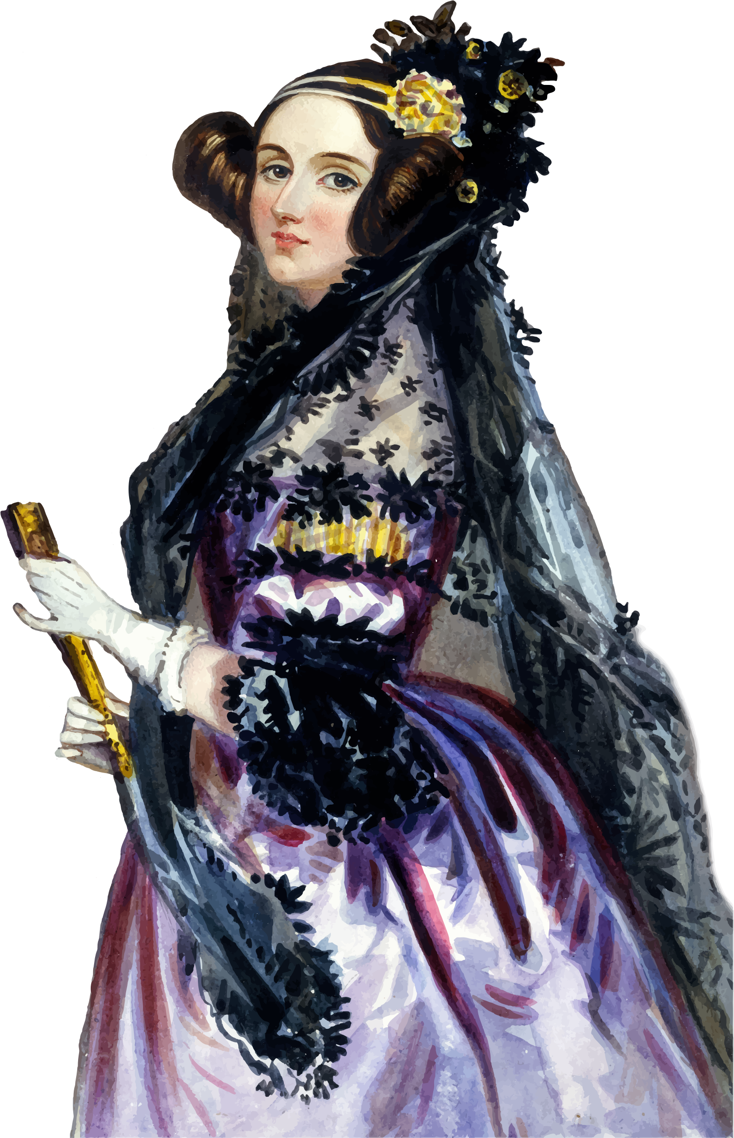 Ada King Countess Of Lovelace Portrait by GDJ