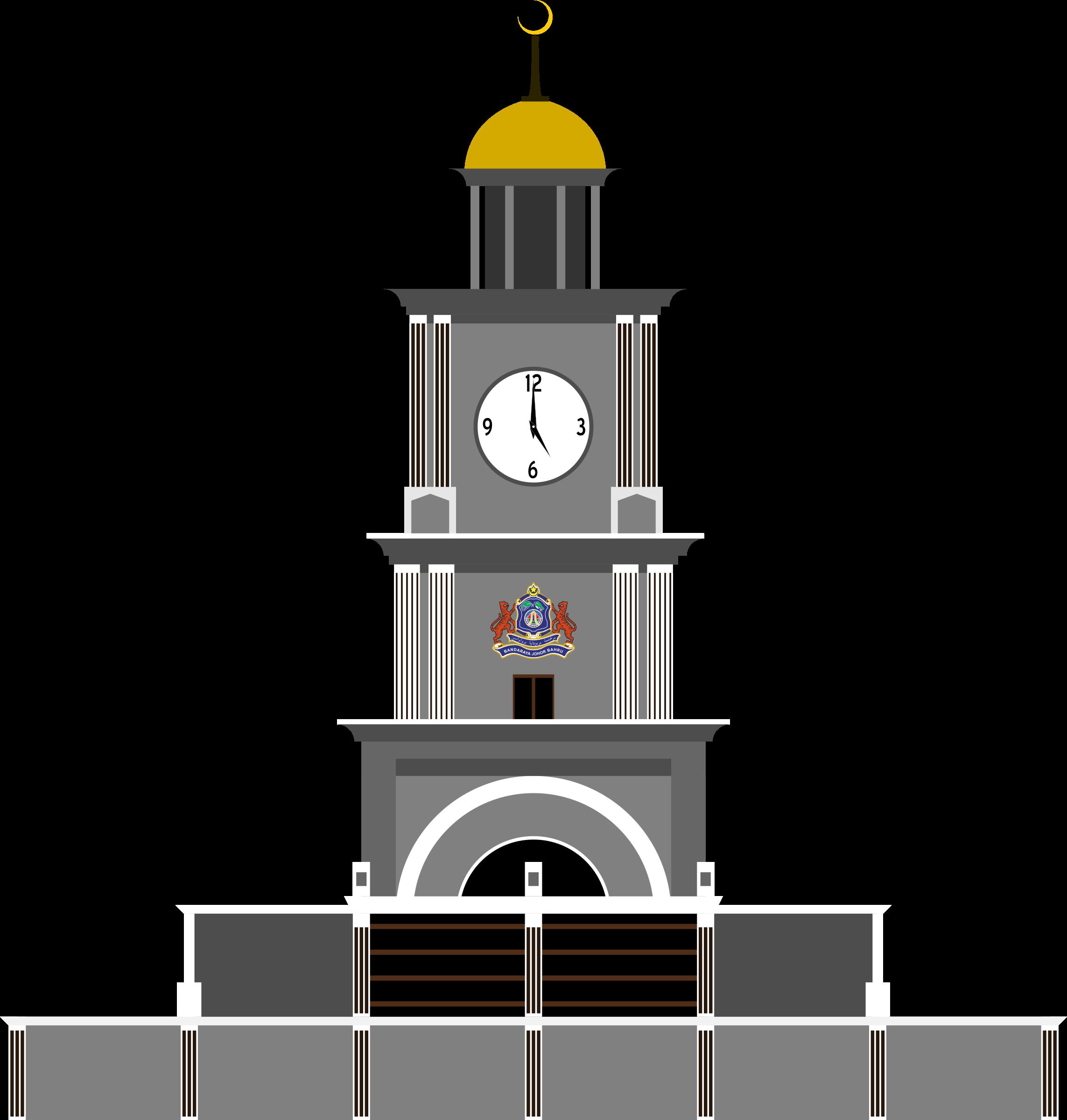 Clock Tower, Johor Bahru by derkommander0916