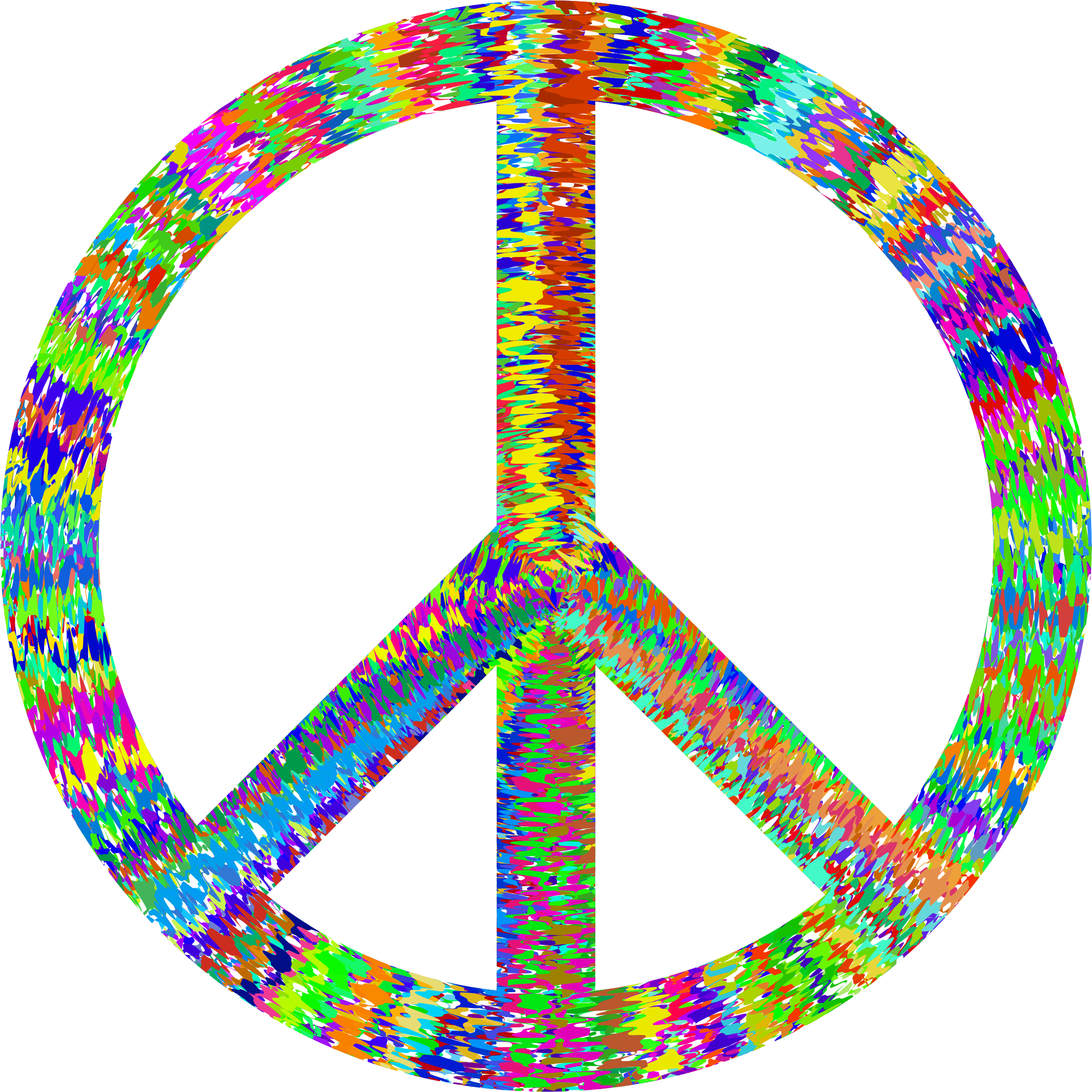 Groovy Peace Sign by GDJ