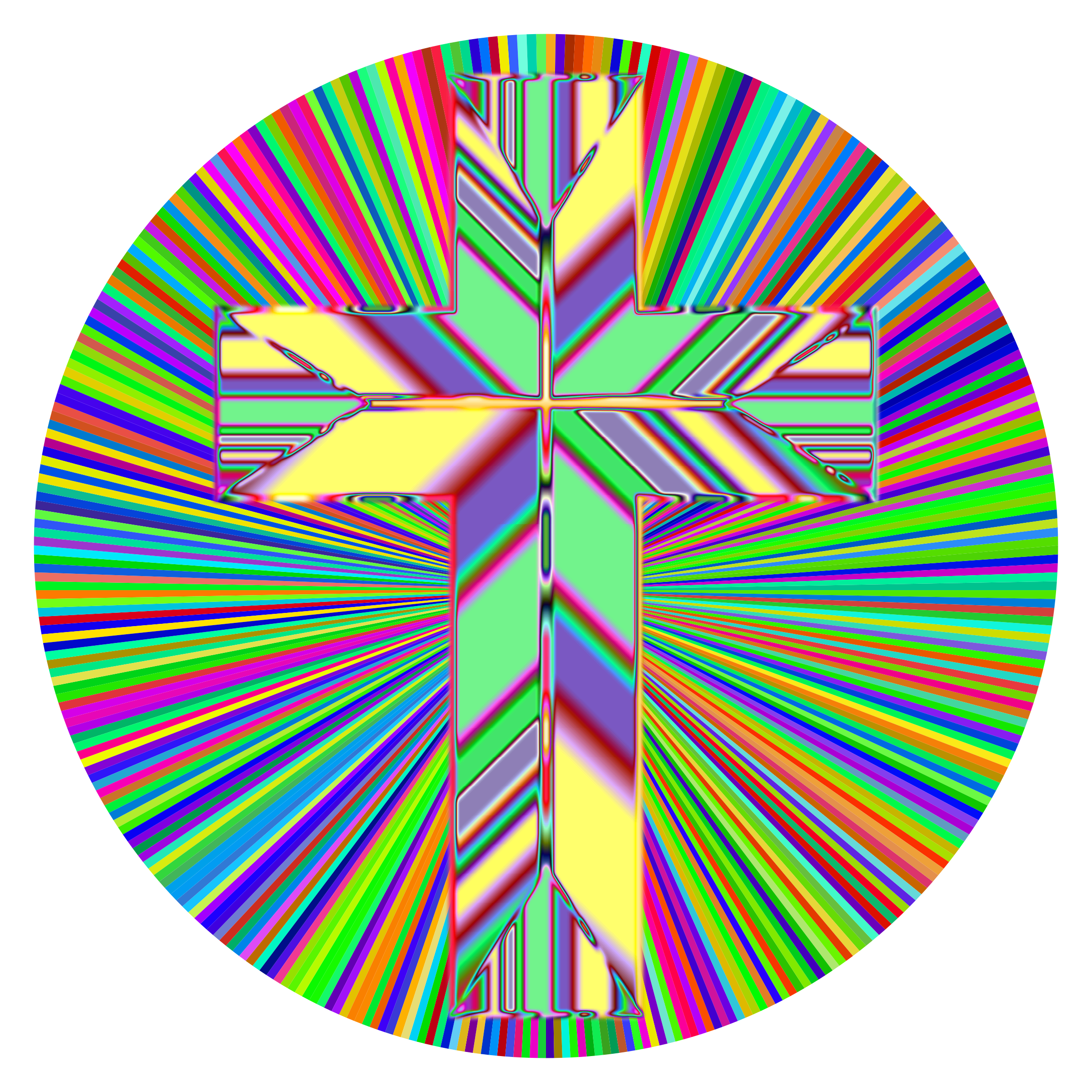 Prismatic Refractive Cross by GDJ