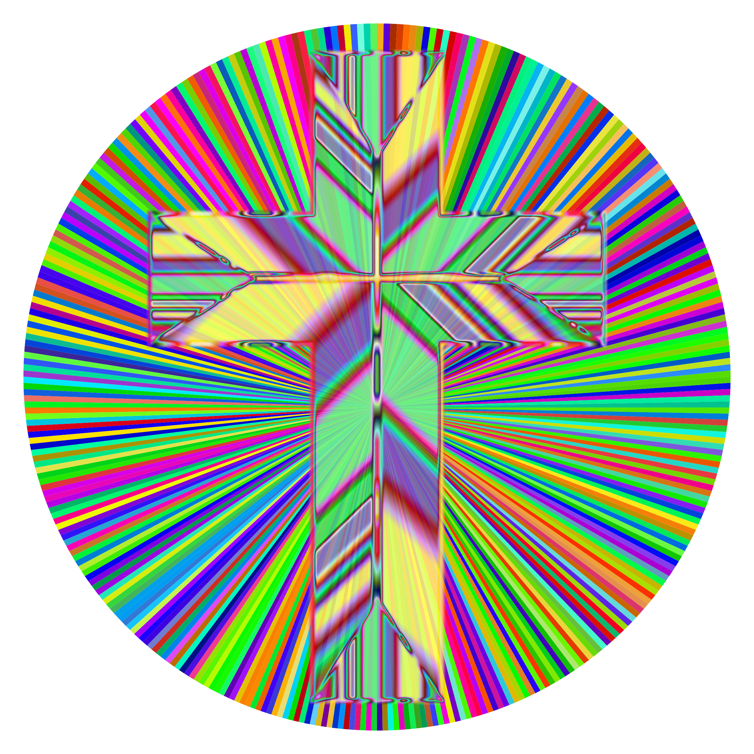 Prismatic Refractive Cross 2 by GDJ