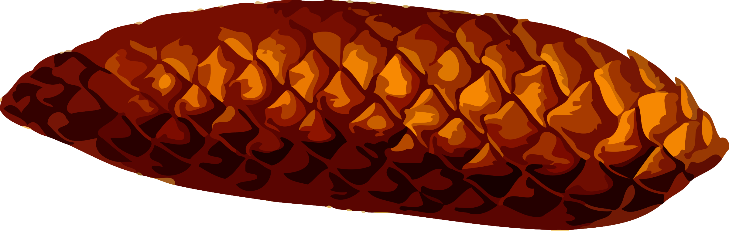 Pine cone (low resolution) by Firkin