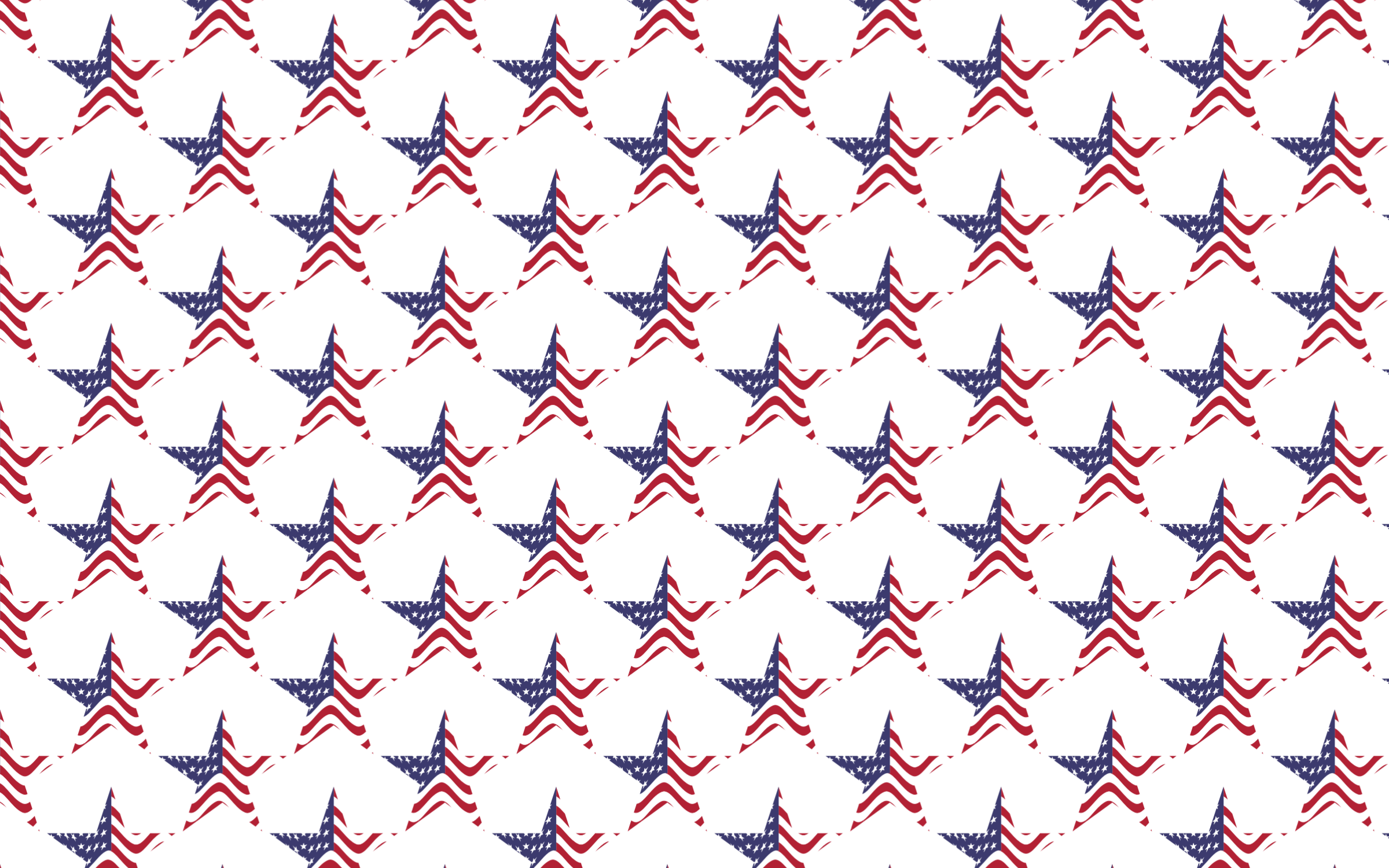 Seamless USA Flag Star Pattern by GDJ