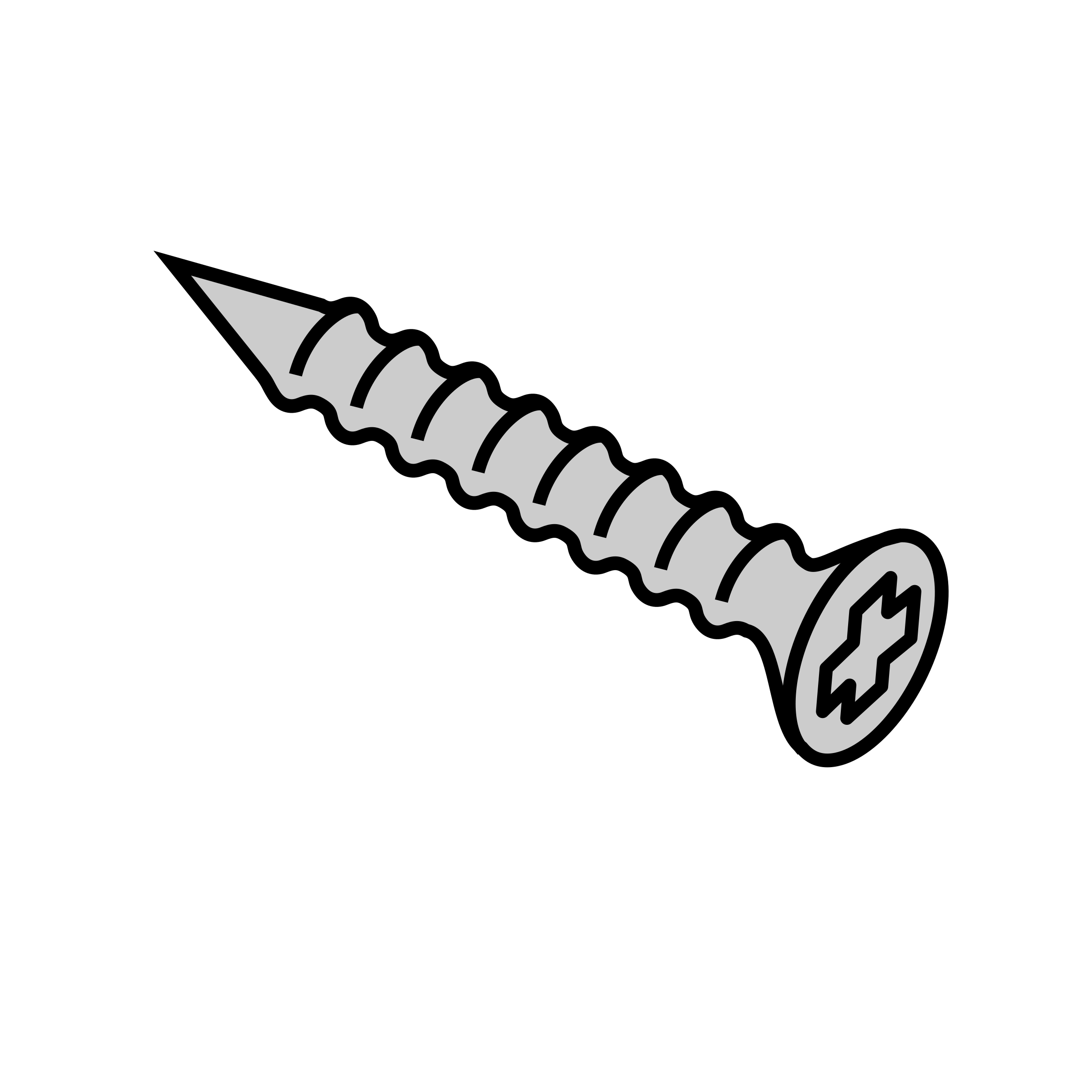 Clipart - Screw