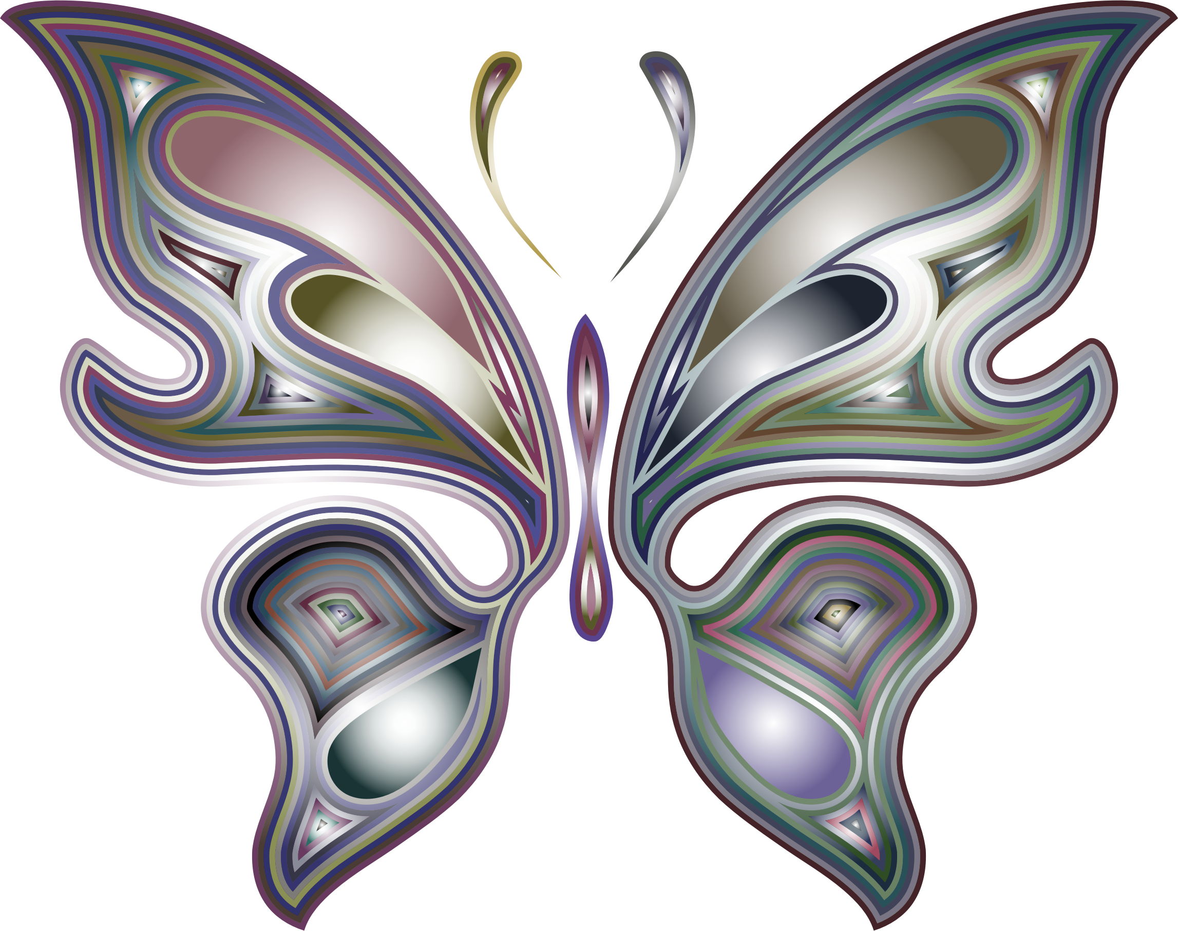 Prismatic Butterfly 5 Variation 3 by GDJ
