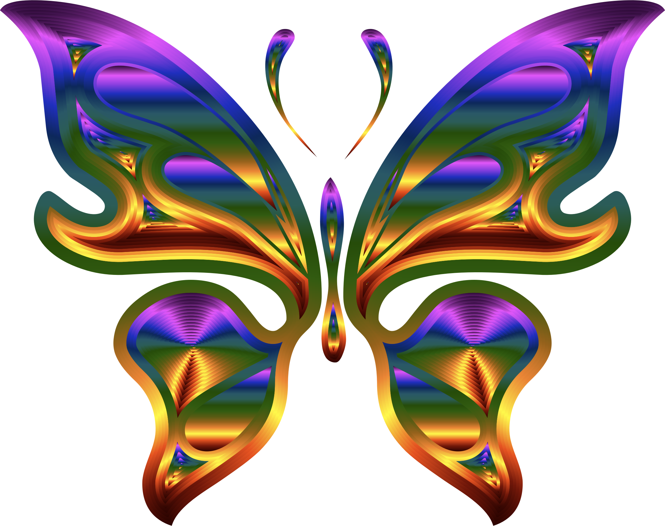 Prismatic Butterfly 9 by GDJ