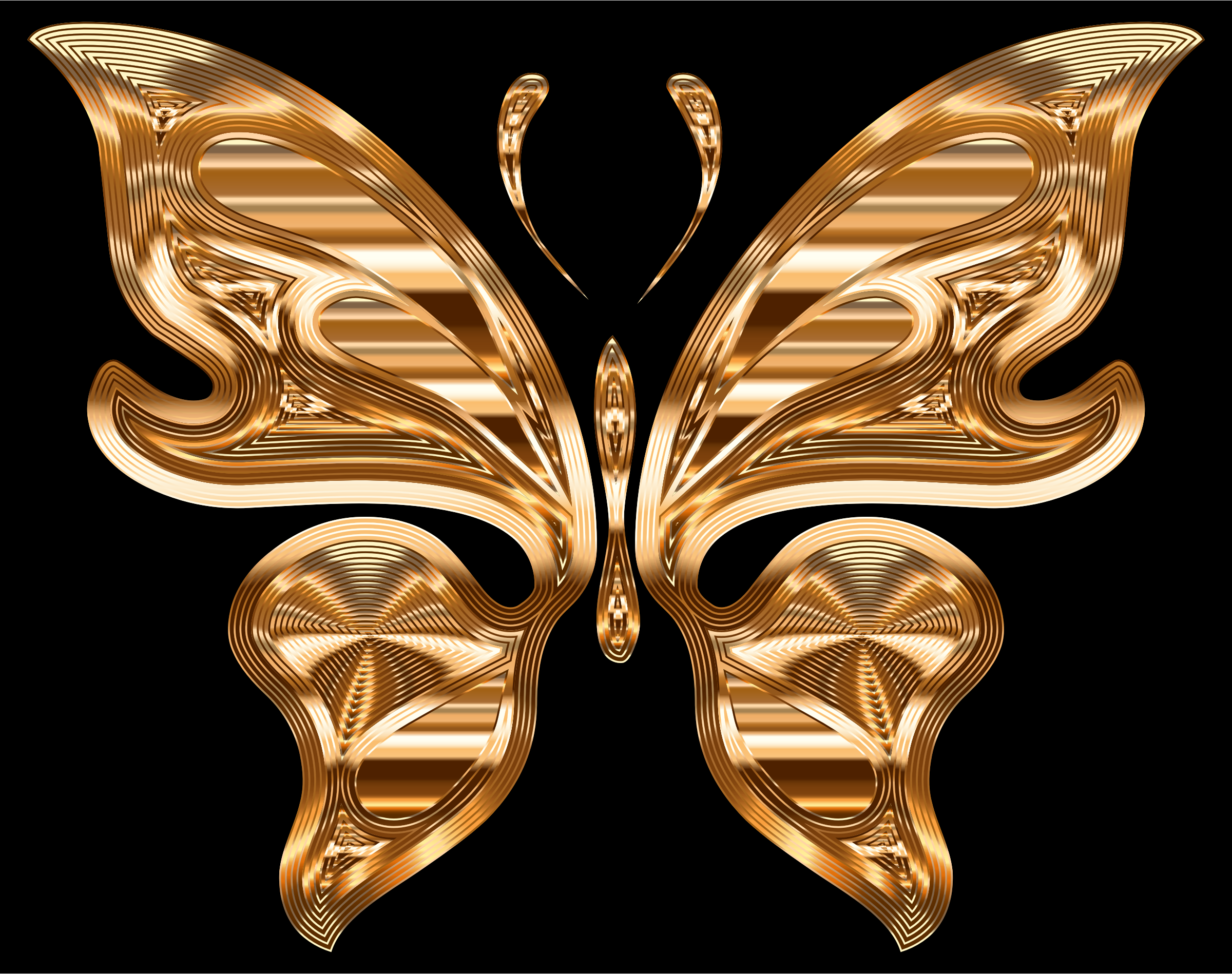 Prismatic Butterfly 10 Variation 2 by GDJ