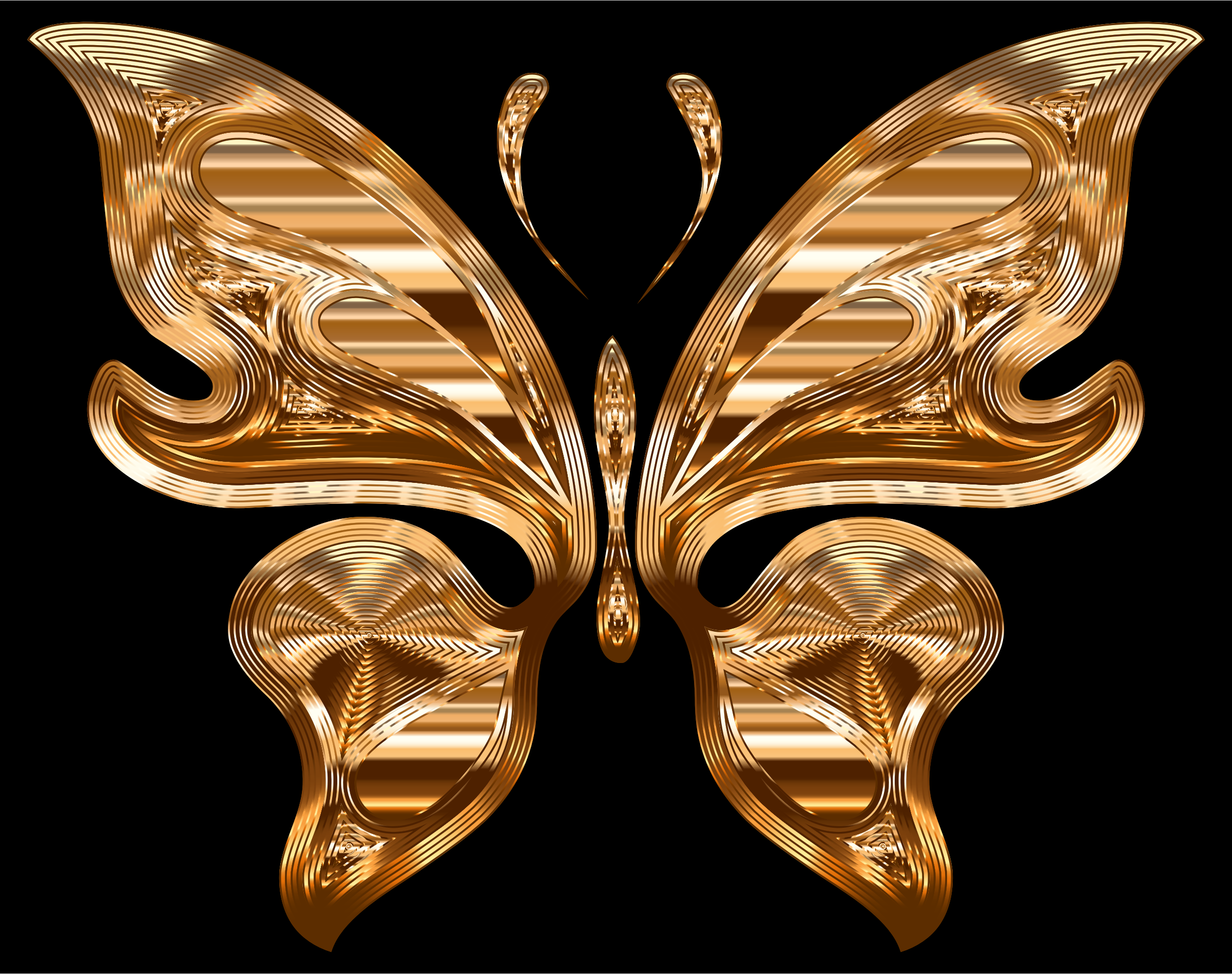 Prismatic Butterfly 10 Variation 3 by GDJ