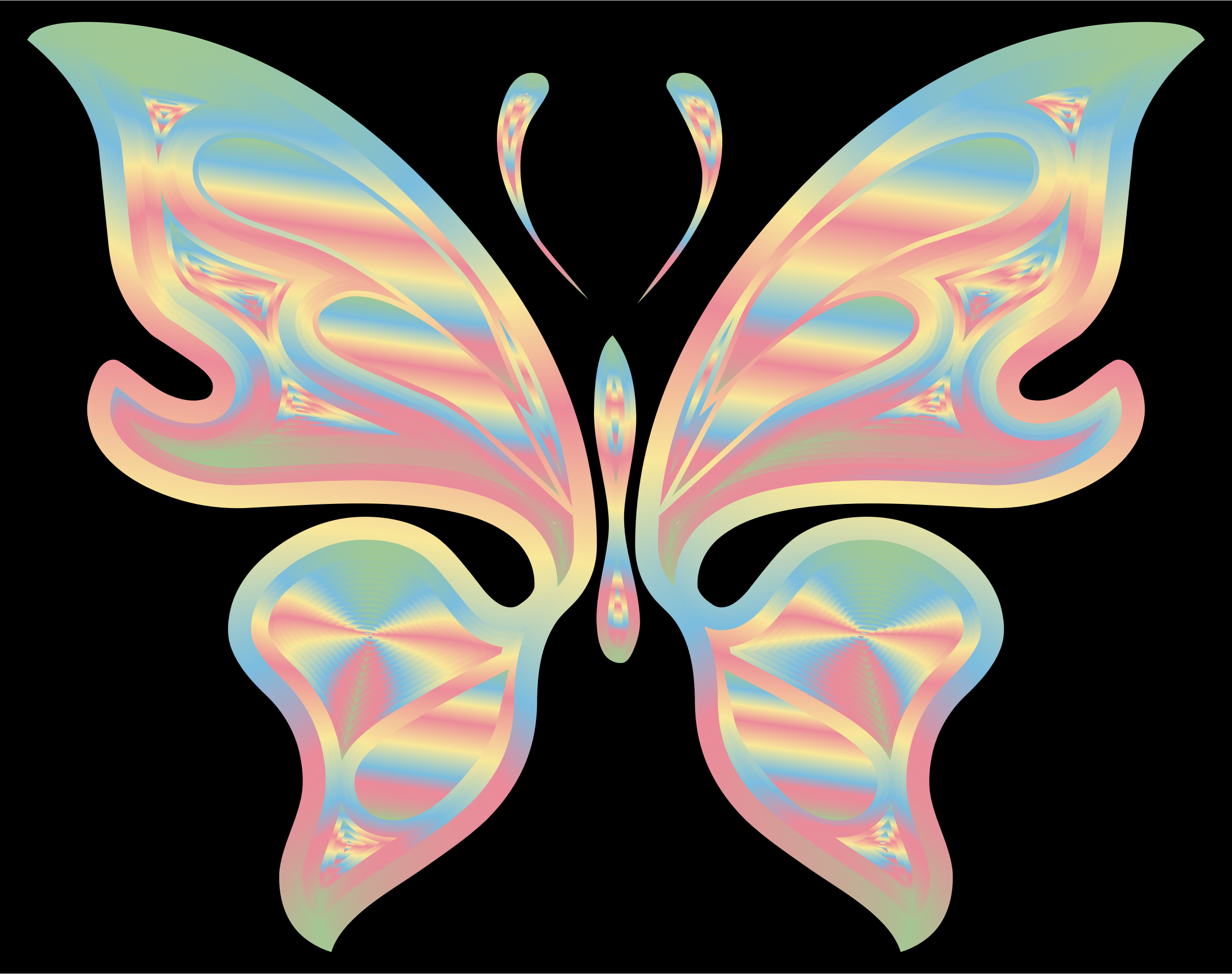 Prismatic Butterfly 17 by GDJ