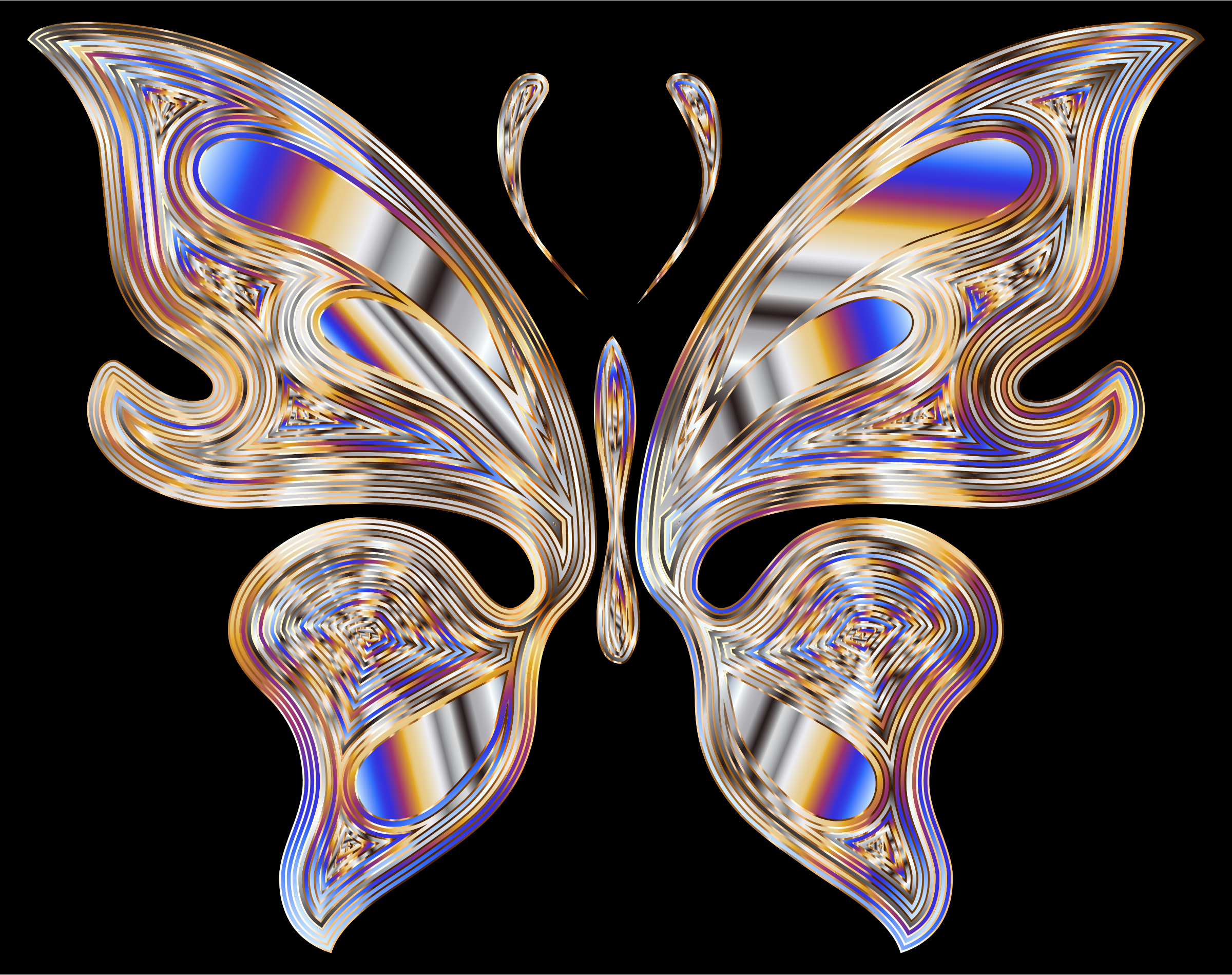 Prismatic Butterfly 18 by GDJ