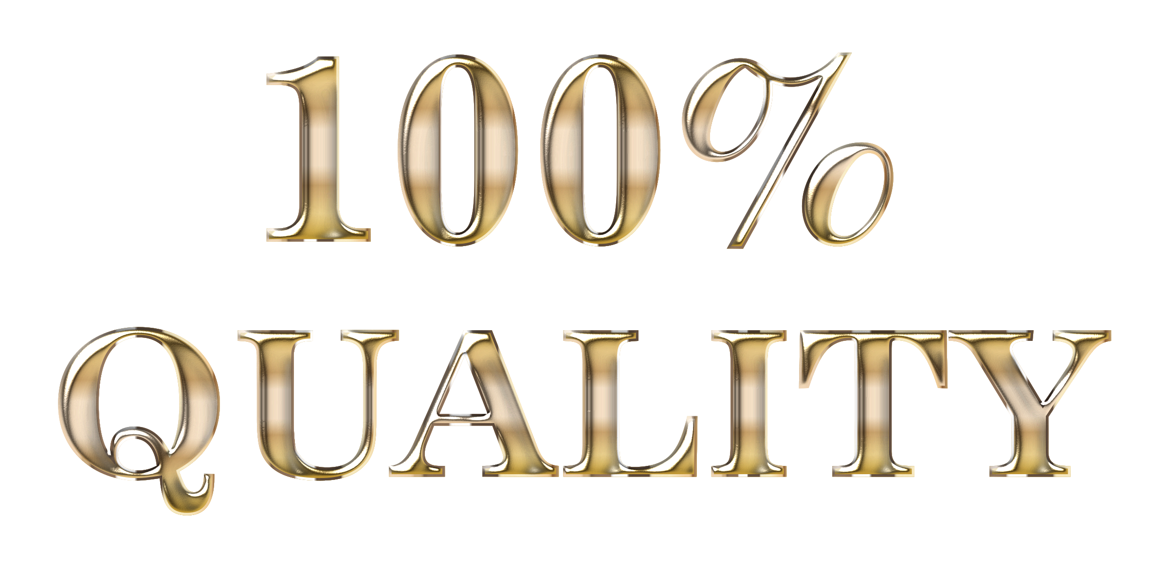 100 Percent Quality Typography Enhanced No Background by GDJ