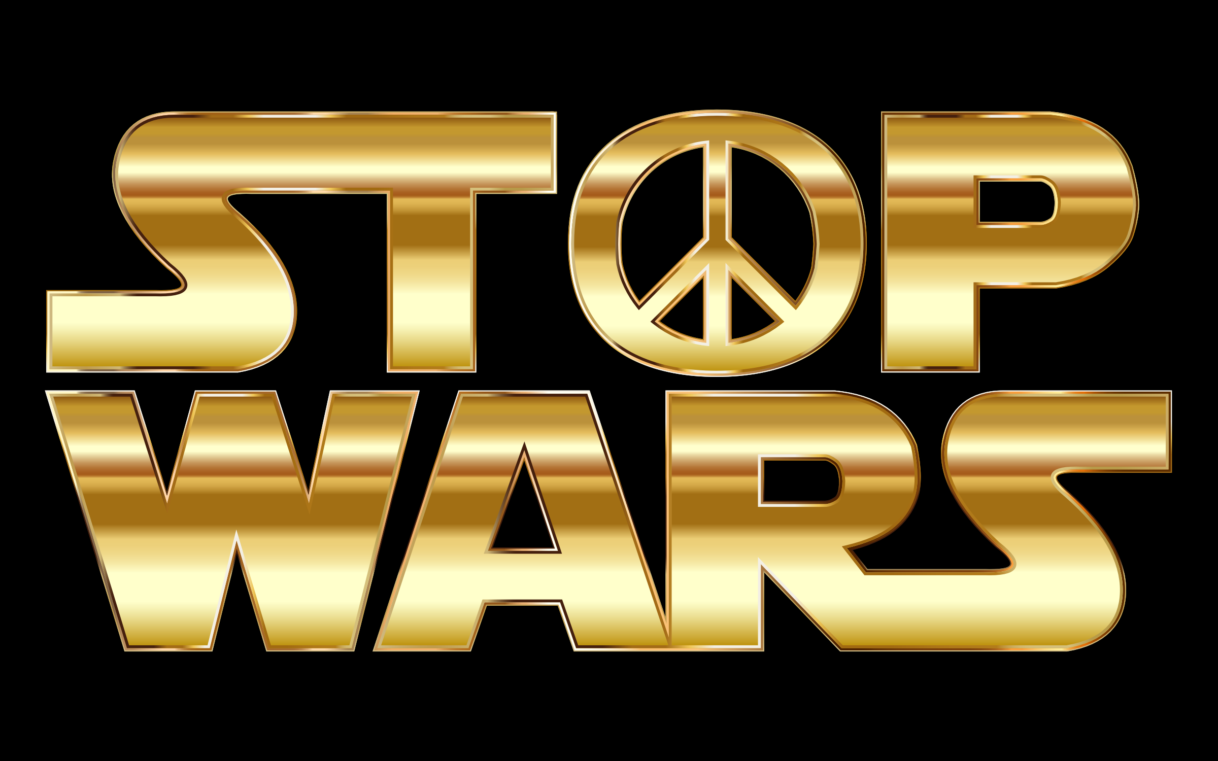 Stop Wars Gold by GDJ