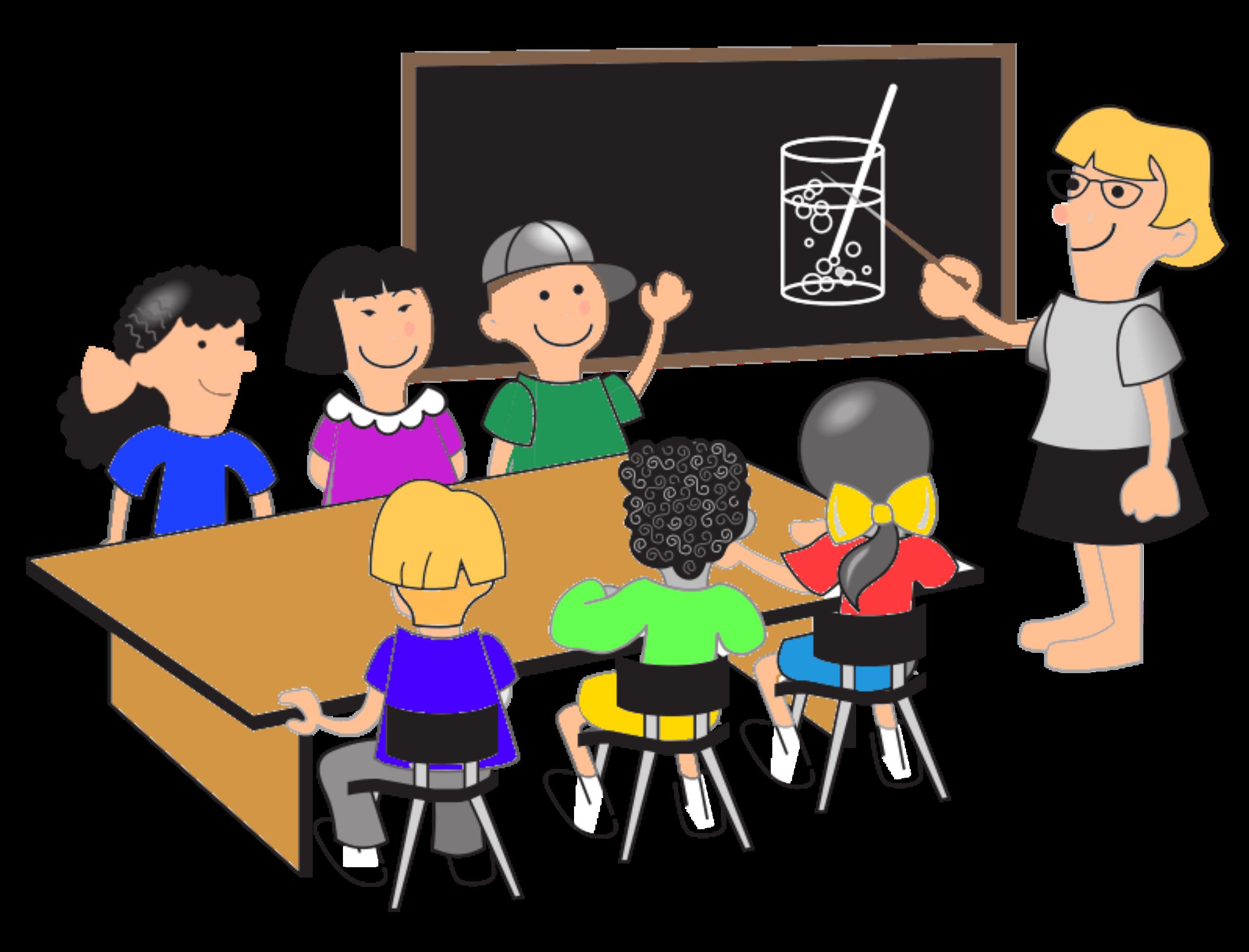 Modern Classroom Clipart ~ Clipart klassenraum