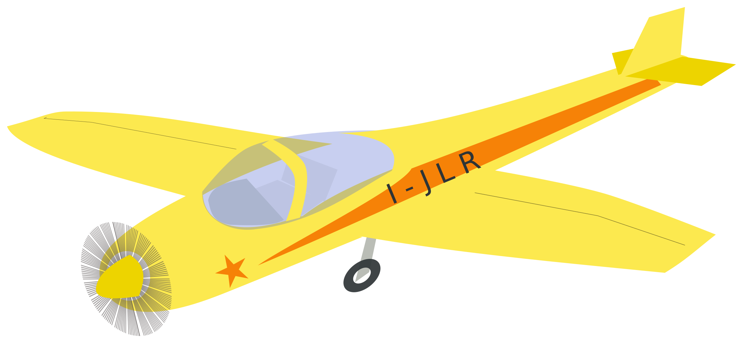 Jodel Plane by chatard