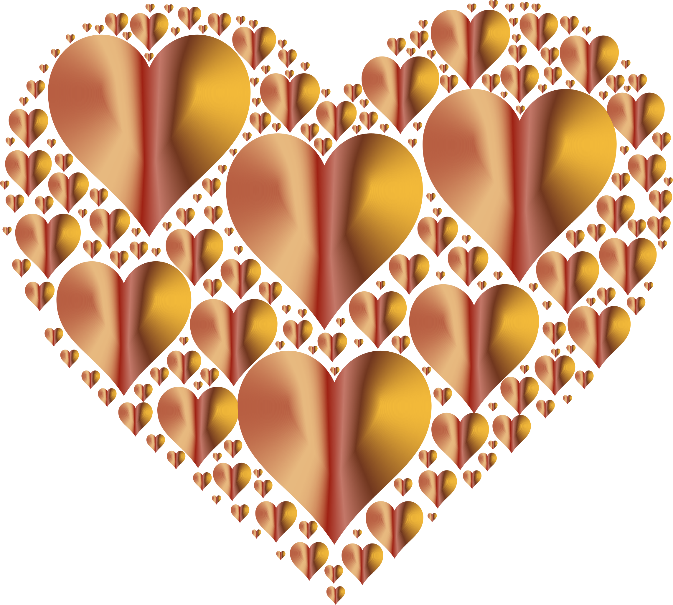 Hearts In Heart Rejuvenated 7 No Background by GDJ