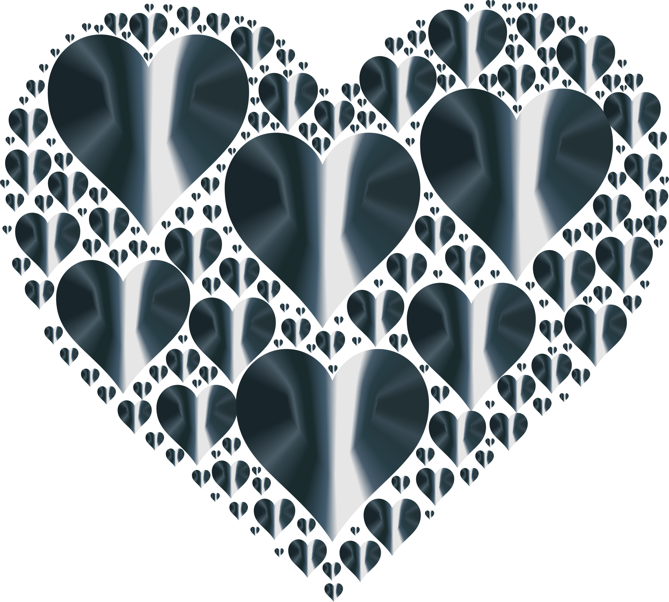 Hearts In Heart Rejuvenated 9 No Background by GDJ
