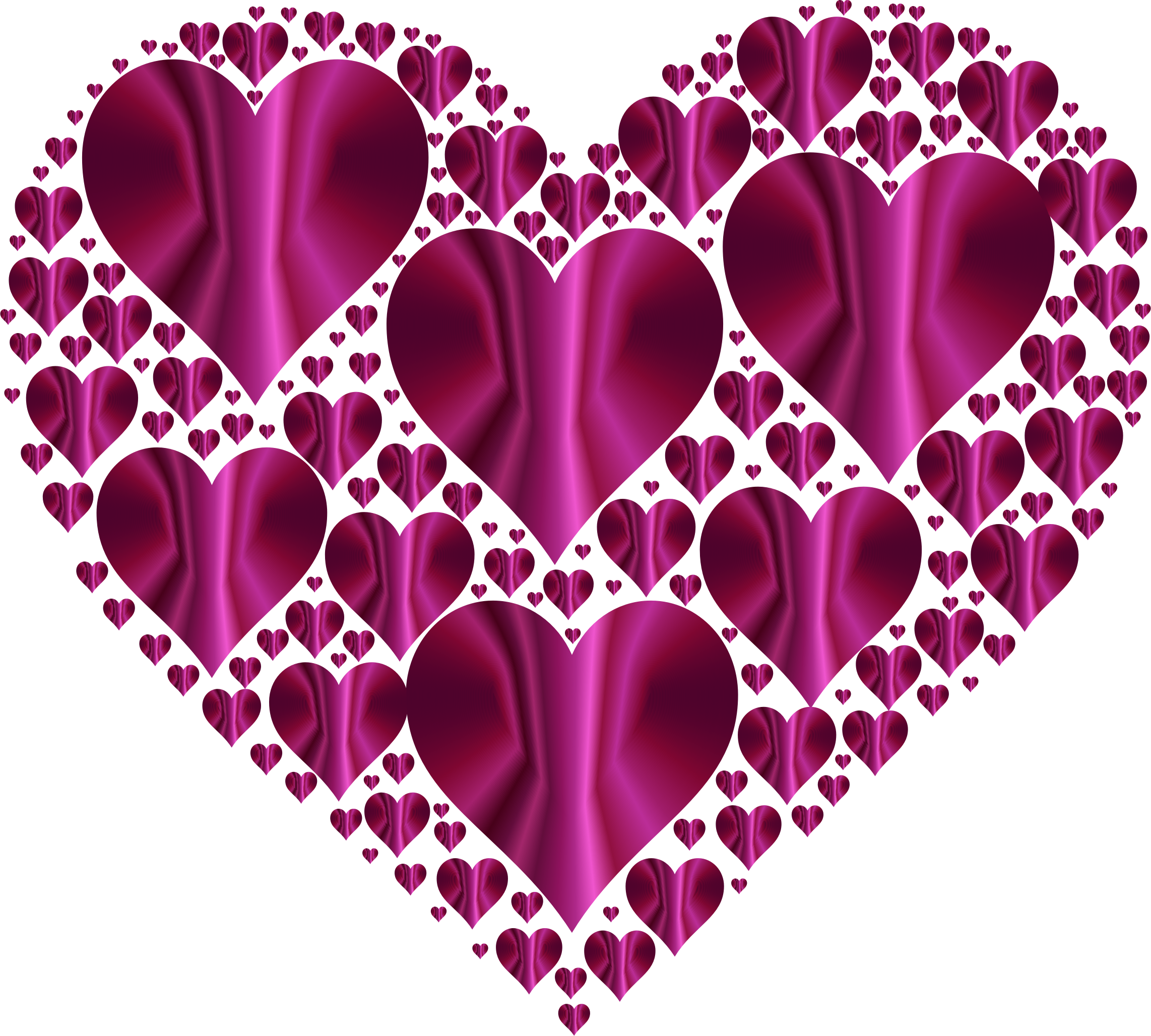 Hearts In Heart Rejuvenated 20 No Background by GDJ