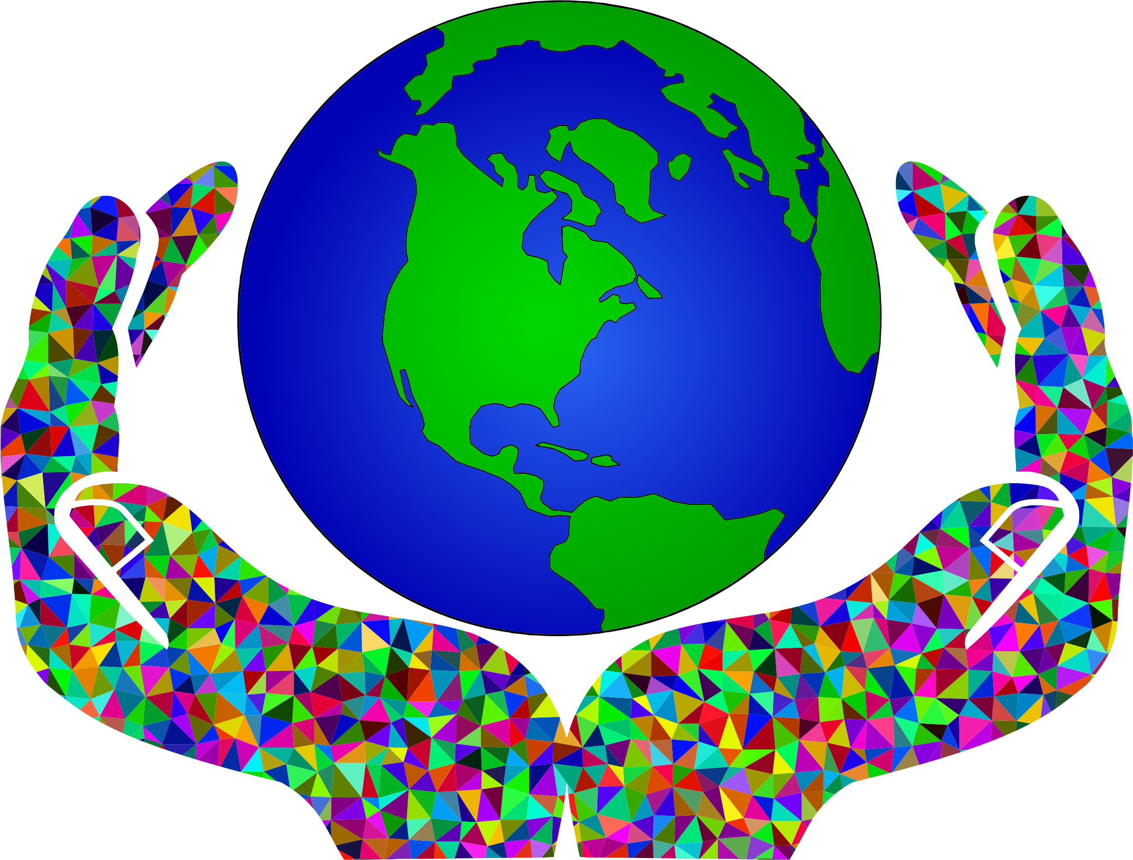 clipart prismatic low poly world in hands 2 planet earth clip art floating in space planet earth clip art floating in space