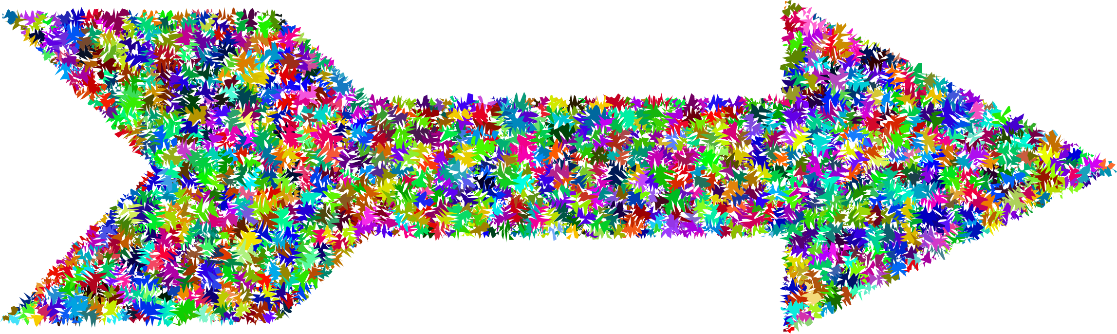 Clipart - Prismatic Chaos Arrow