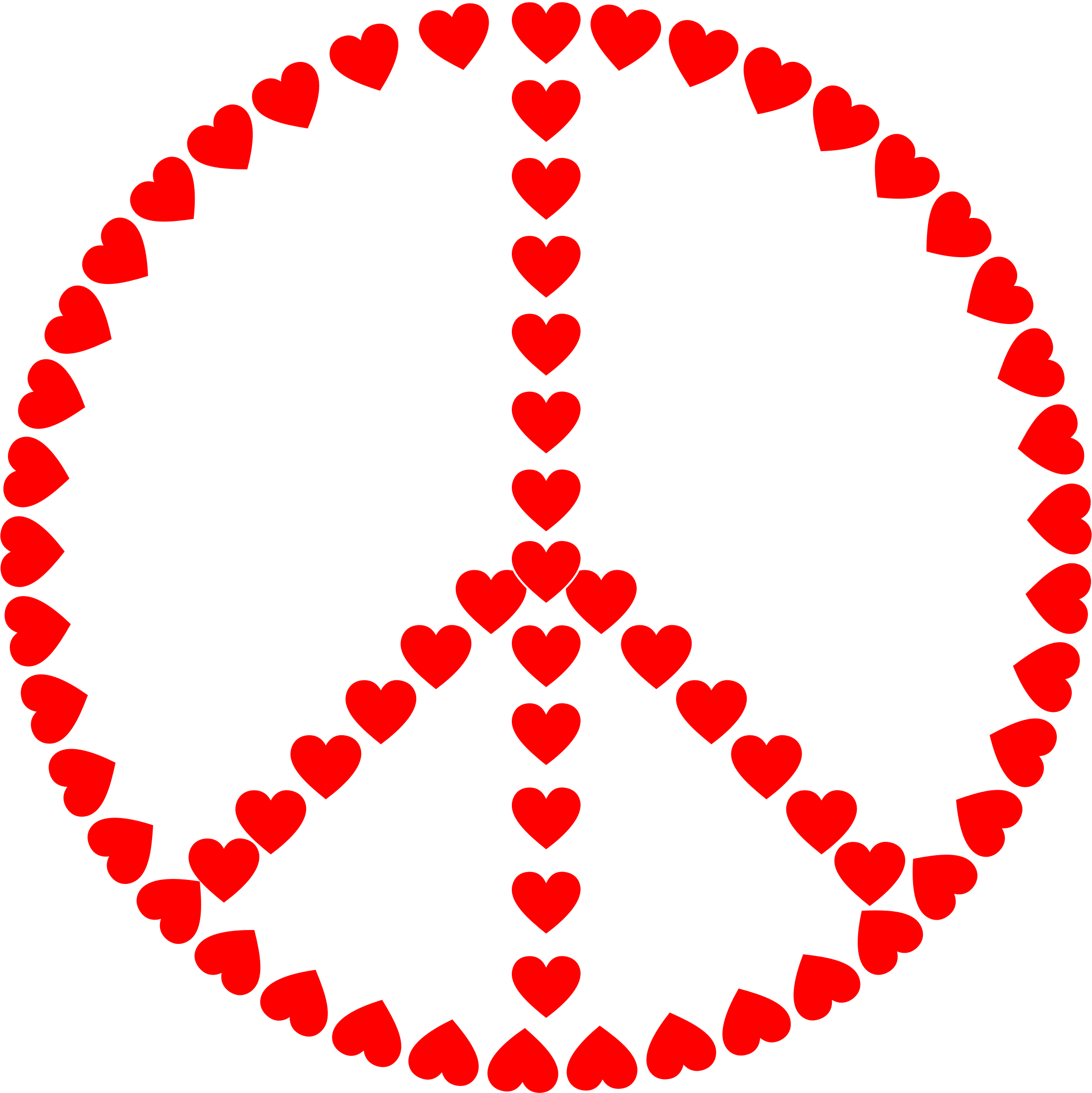 Peace Sign Love by GDJ
