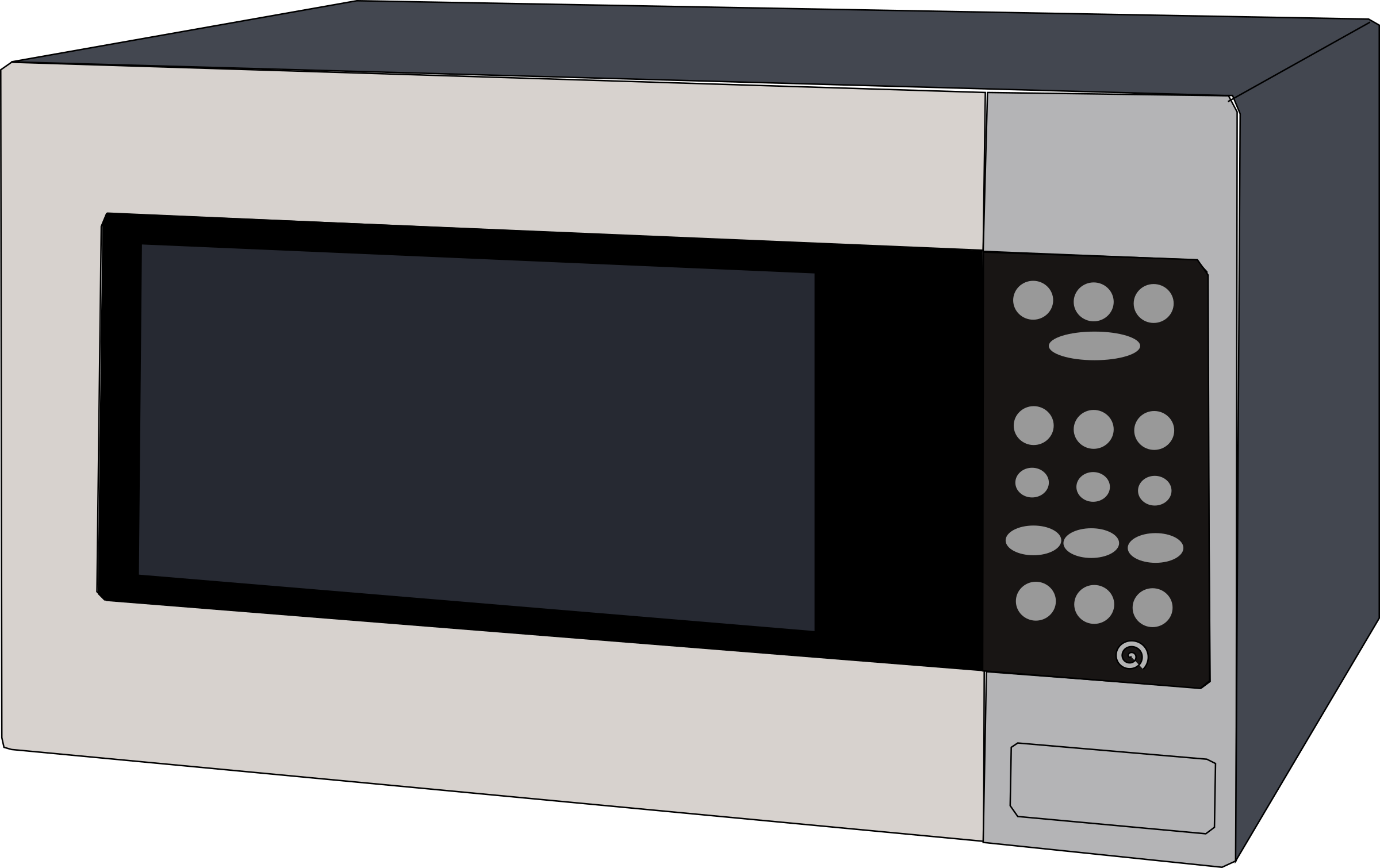 Microwave oven by Machovka