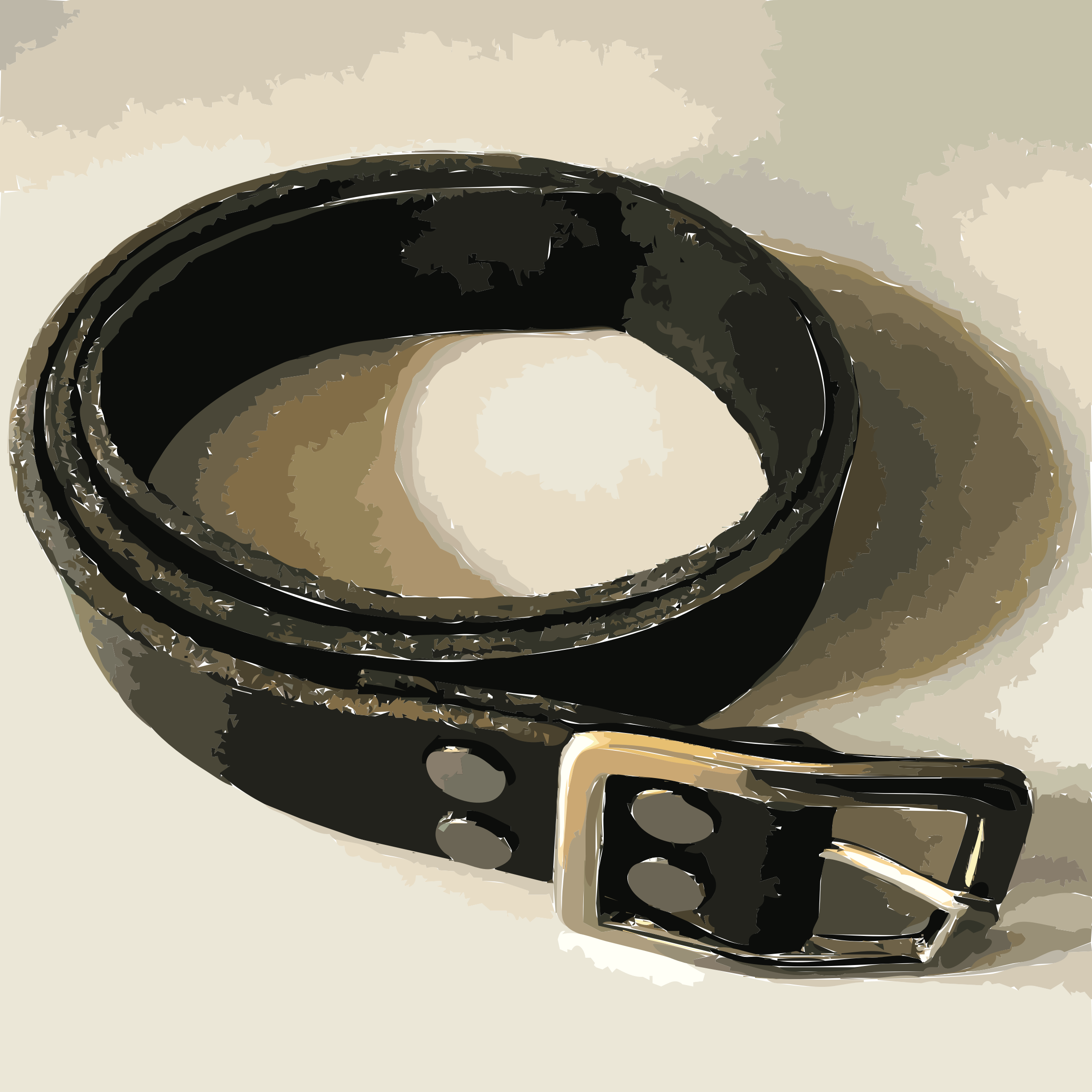 Bespoke leather belt by rejon