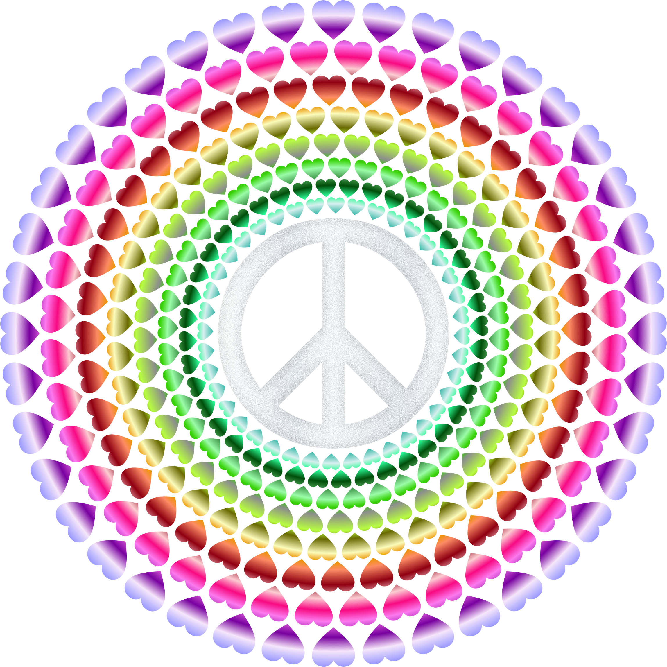 Peace & Love, Groovy 2 by Arvin61r58