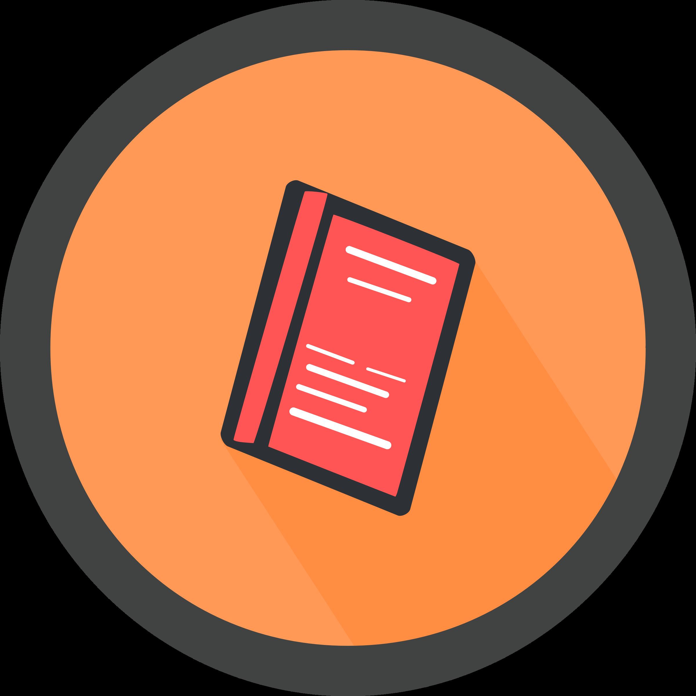 clipart book icon